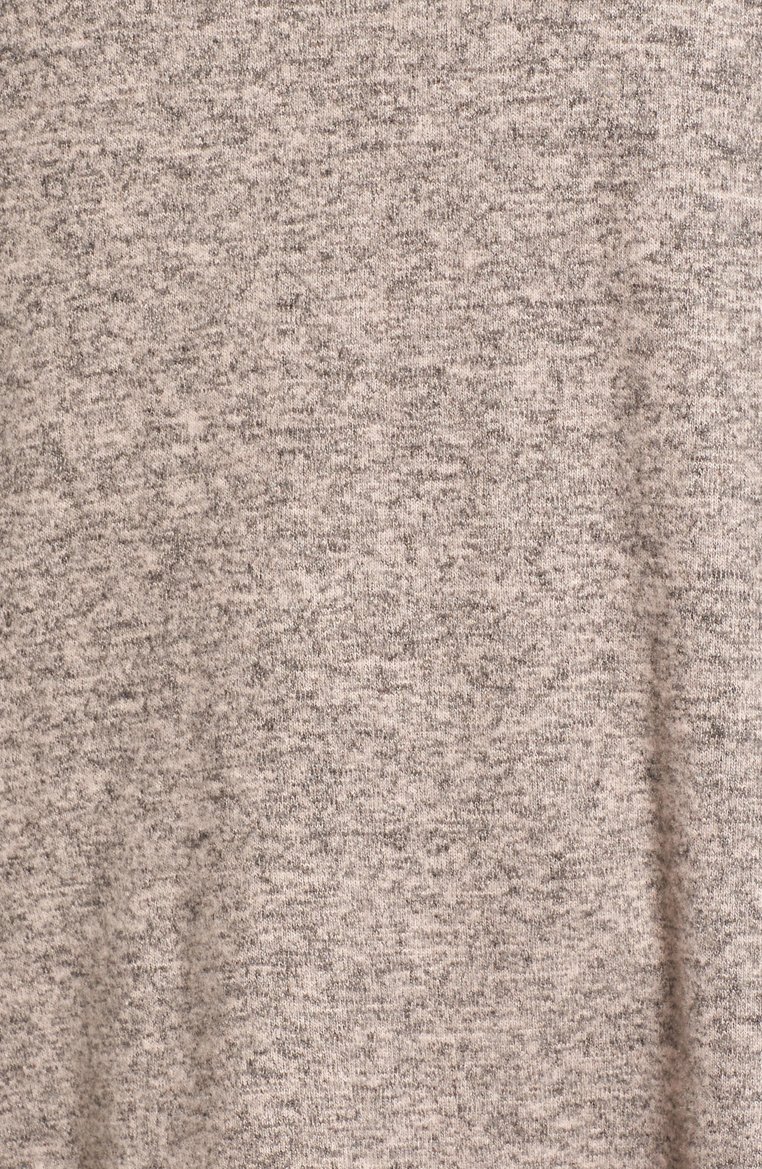 Bell Sleeve Cozy Fleece Pullover,                             Alternate thumbnail 59, color,