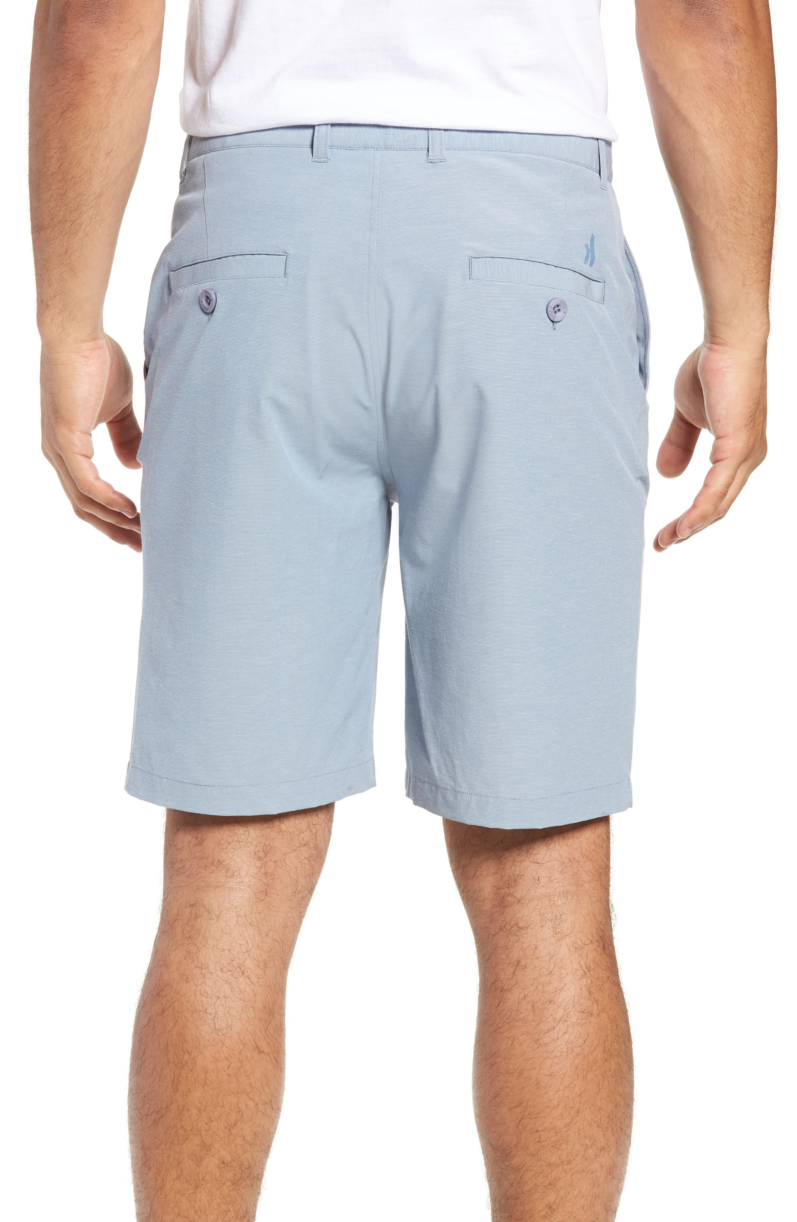 Wyatt Regular Fit Stretch Shorts,                             Alternate thumbnail 9, color,