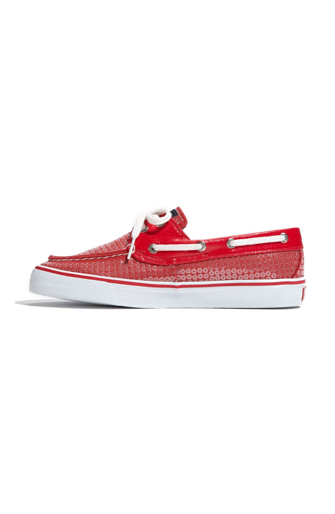 Top-Sider<sup>®</sup> 'Bahama' Sequined Boat Shoe,                             Alternate thumbnail 116, color,