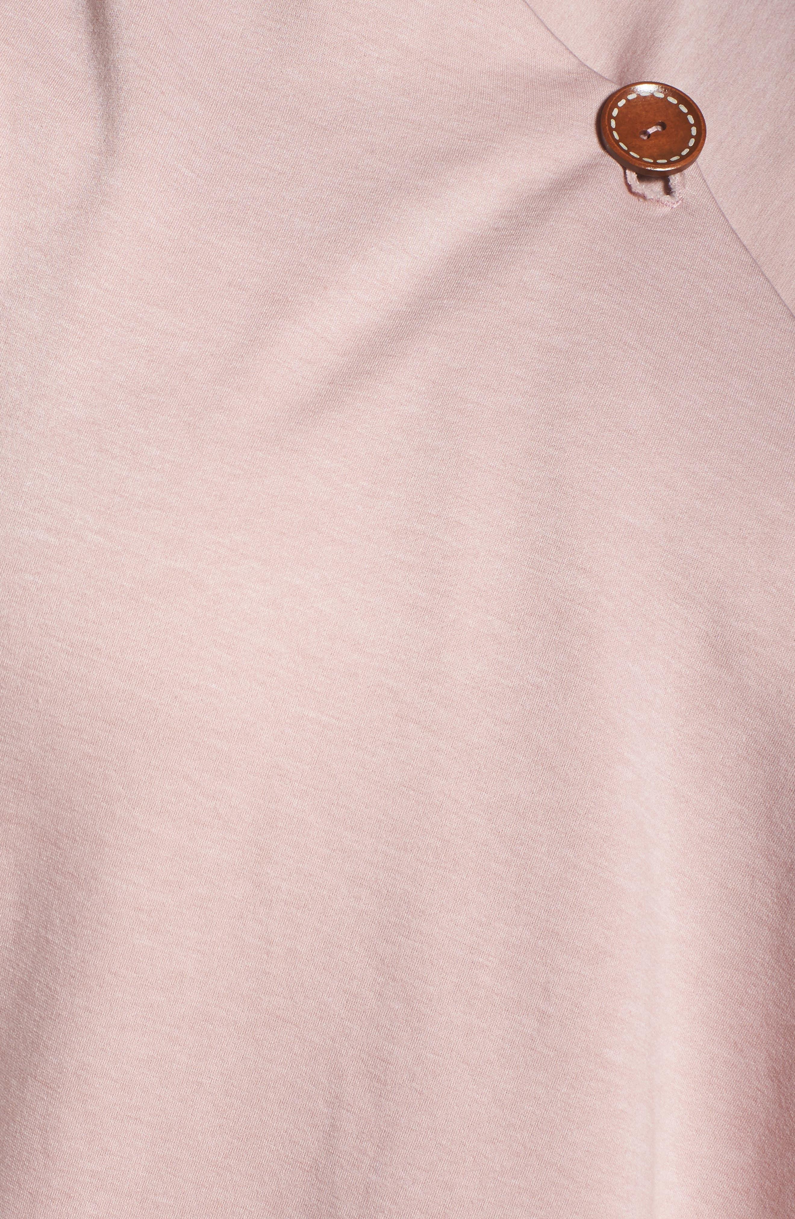 One-Button Fleece Cardigan,                             Alternate thumbnail 199, color,