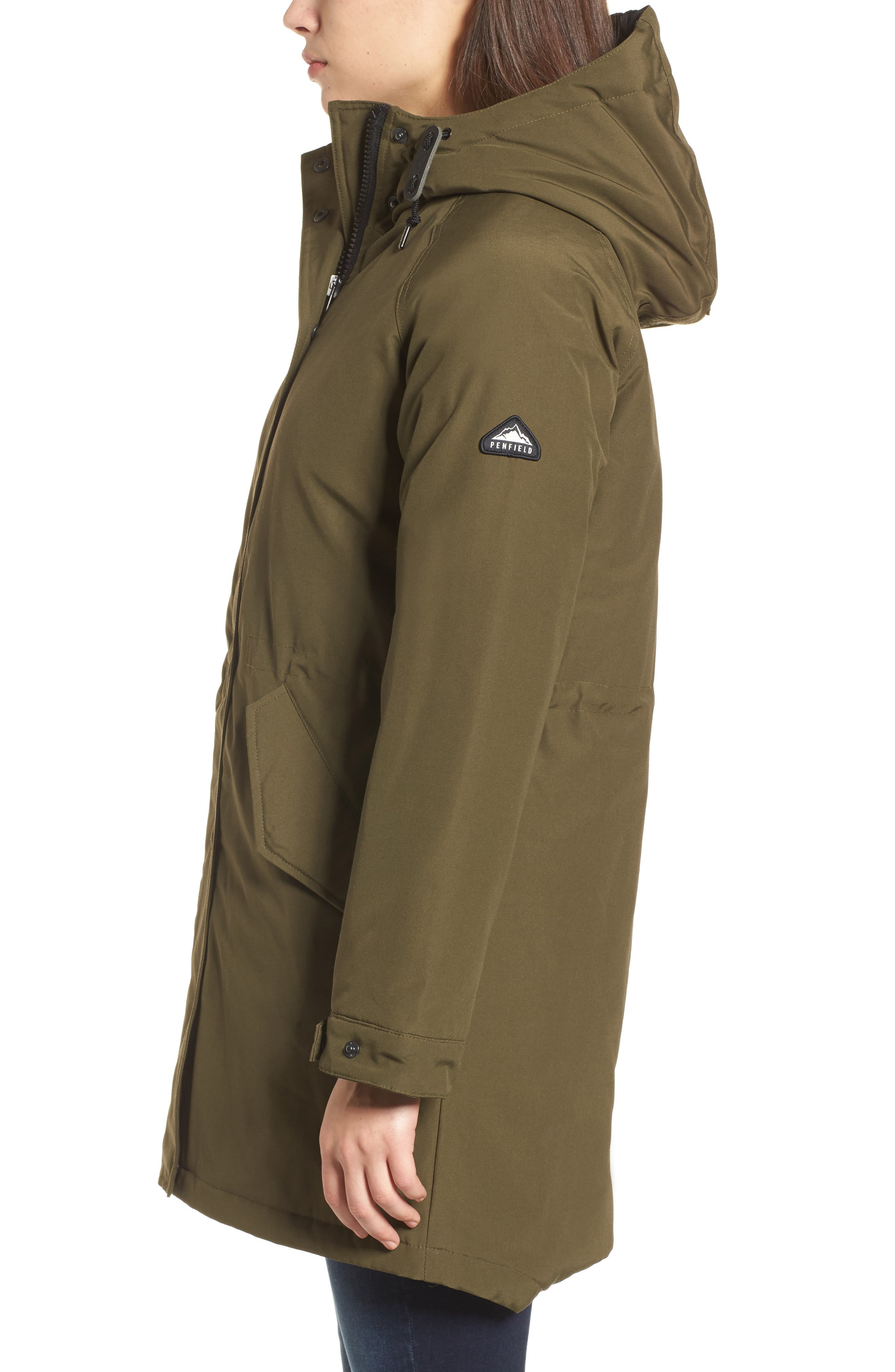 Kingman Hooded Fishtail Parka,                             Alternate thumbnail 3, color,                             307