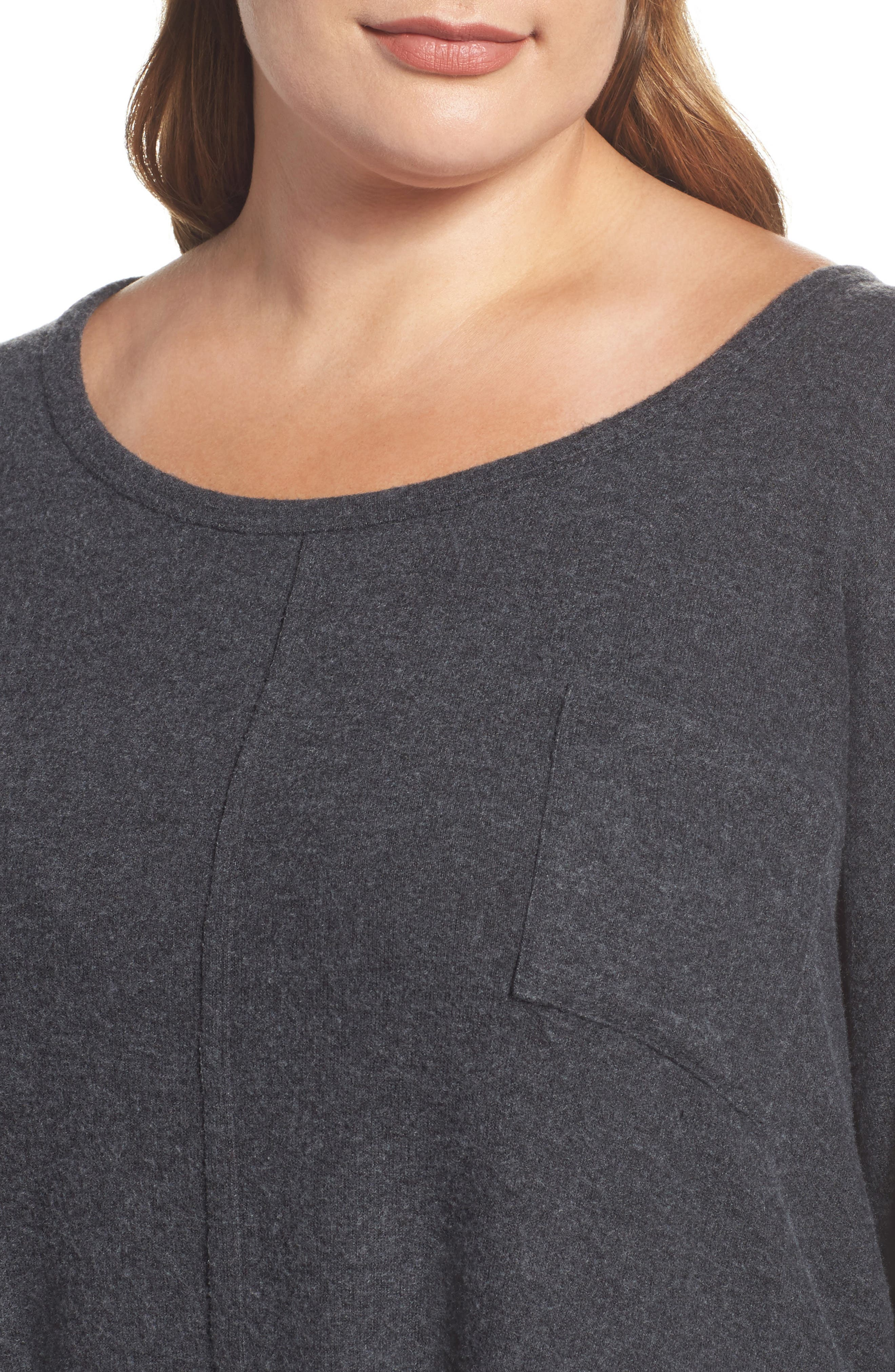 Drop Shoulder Pocket Top,                             Alternate thumbnail 11, color,