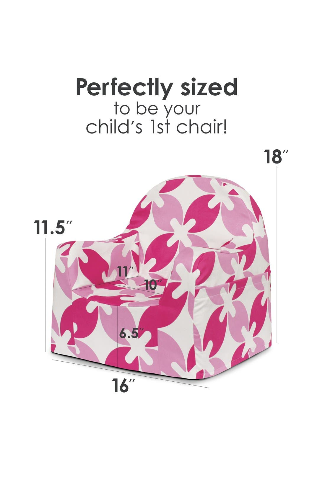 P'KOLINO,                             'Personalized Little Reader' Chair,                             Alternate thumbnail 5, color,                             650