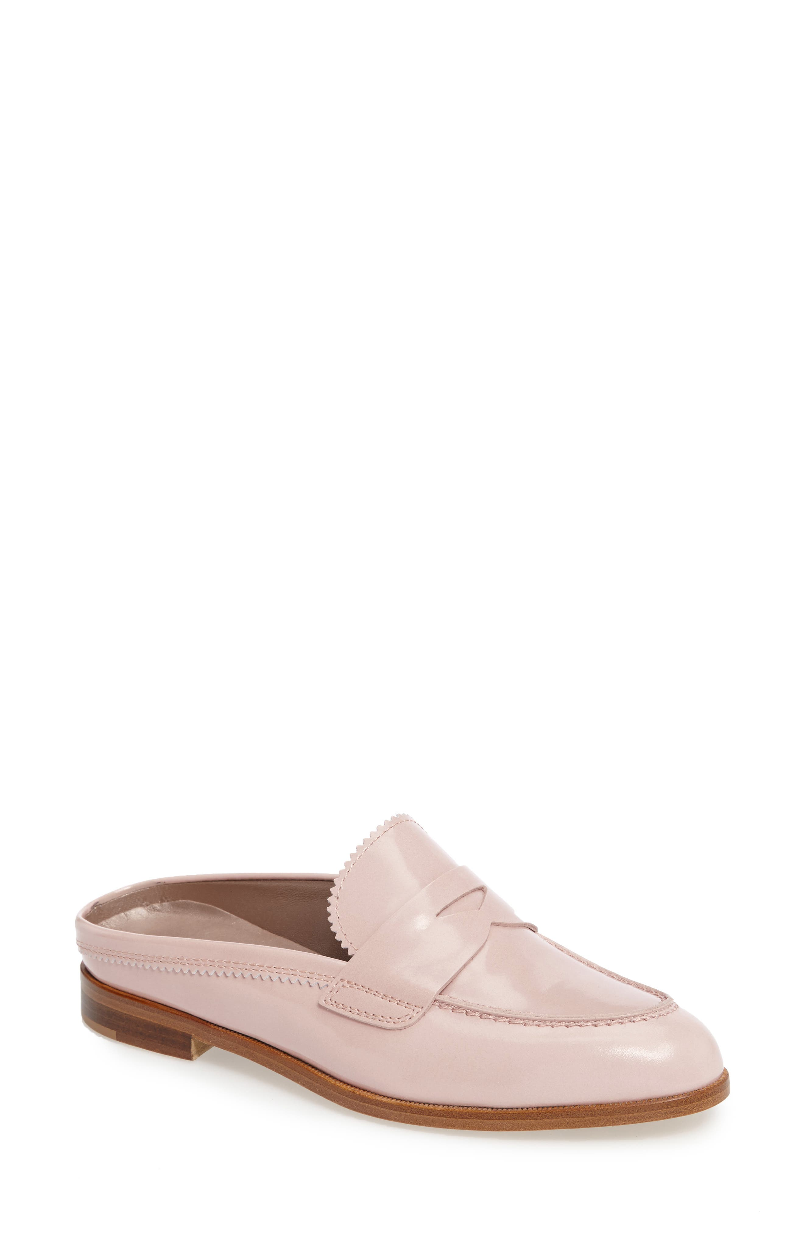 Penny Loafer Mule,                             Main thumbnail 4, color,