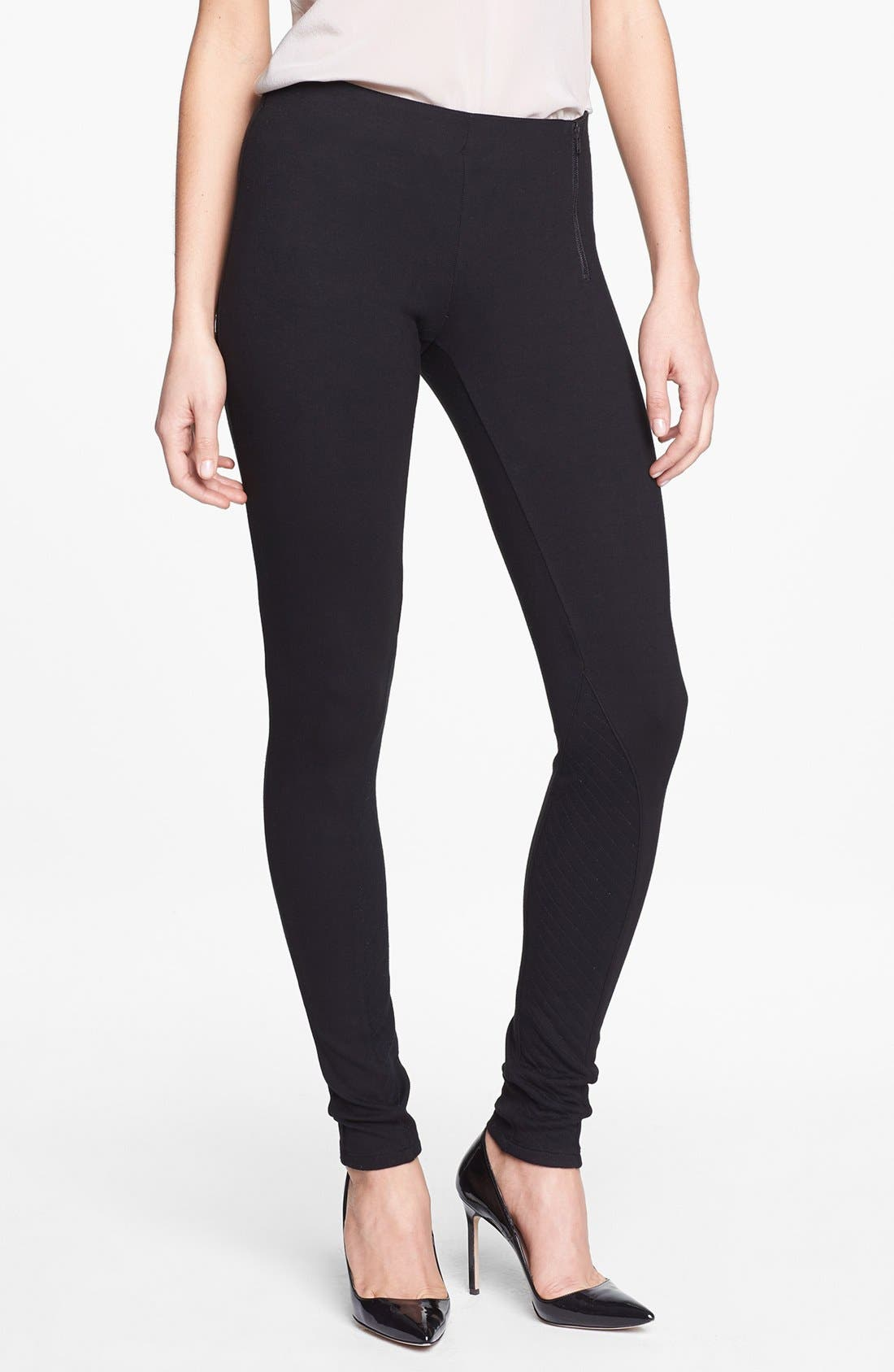 'Redell K.' Stretch Skinny Pants,                             Main thumbnail 1, color,                             001