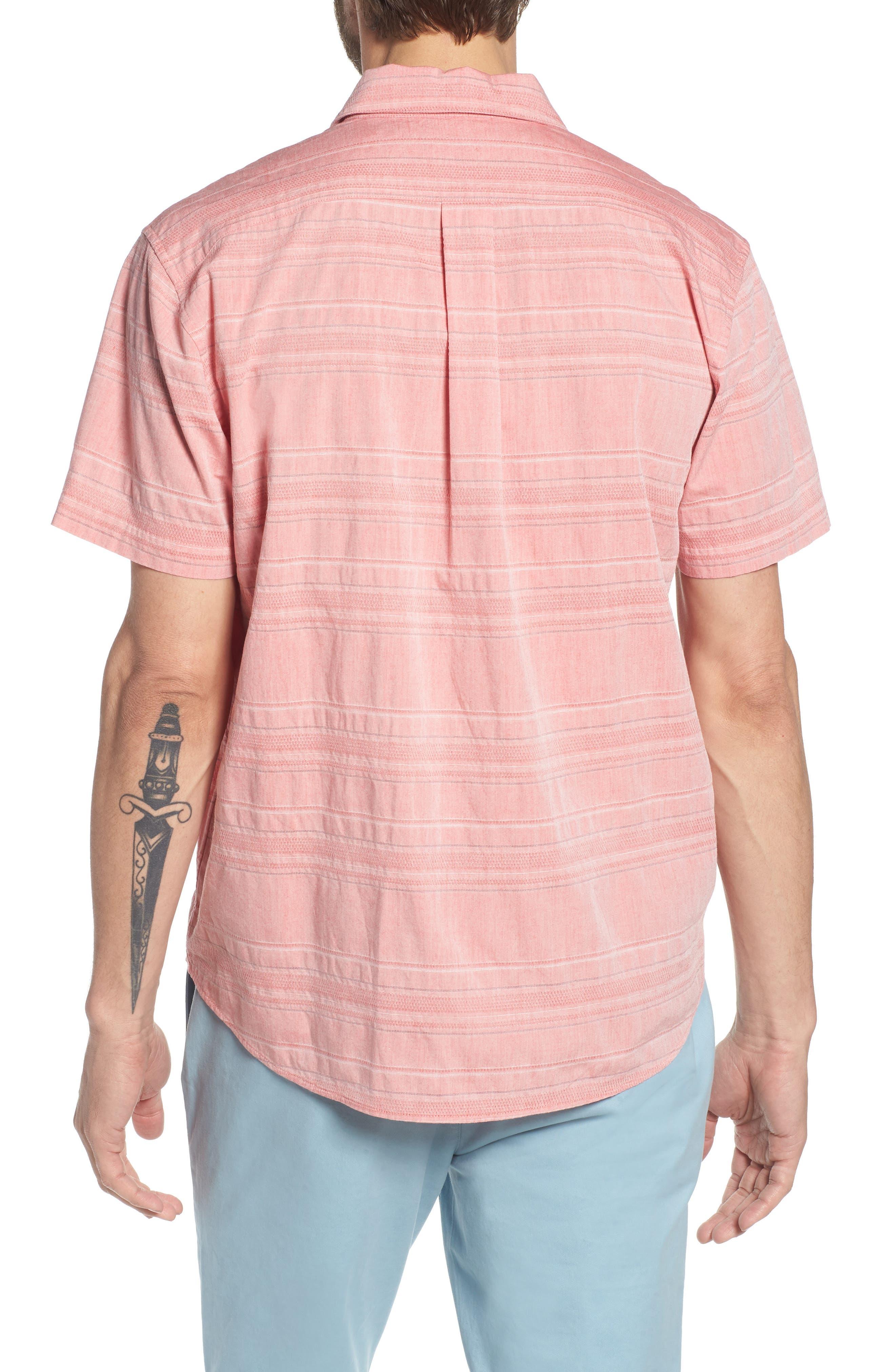 Beach Slim Fit Stripe Polo,                             Alternate thumbnail 2, color,