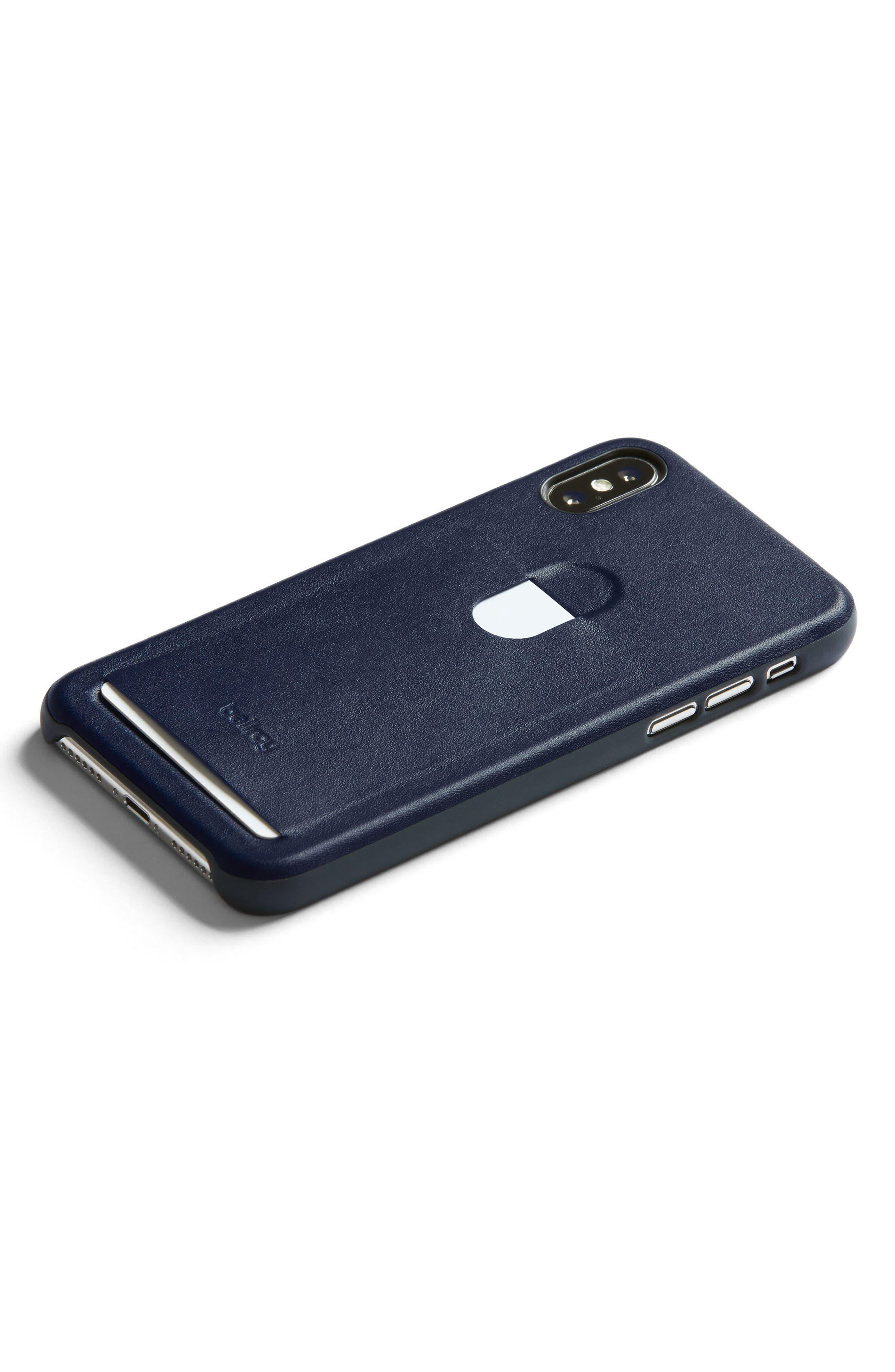 Single Card iPhone X Case,                             Main thumbnail 4, color,