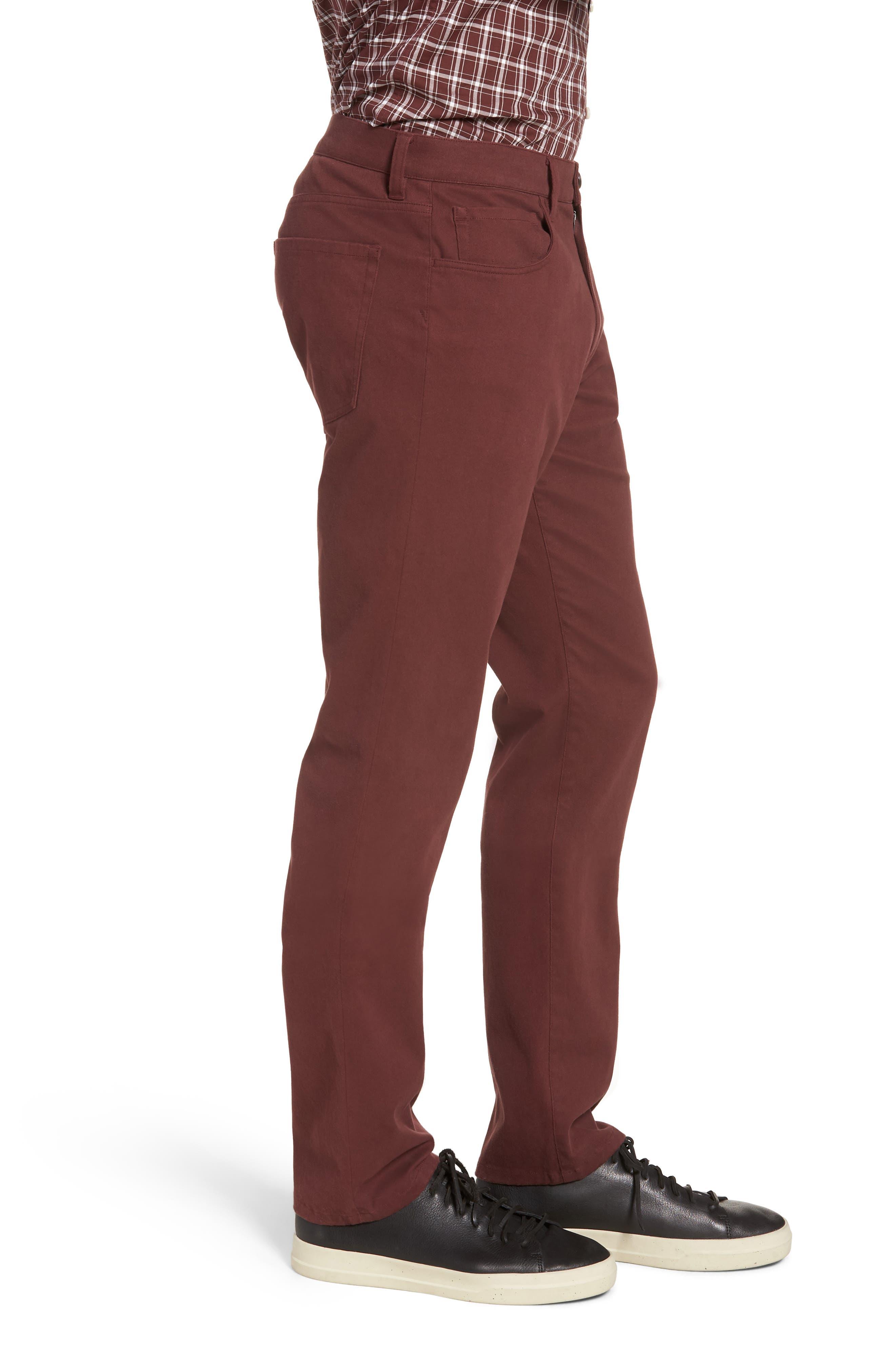 Regular Fit Five-Pocket Pants,                             Alternate thumbnail 6, color,