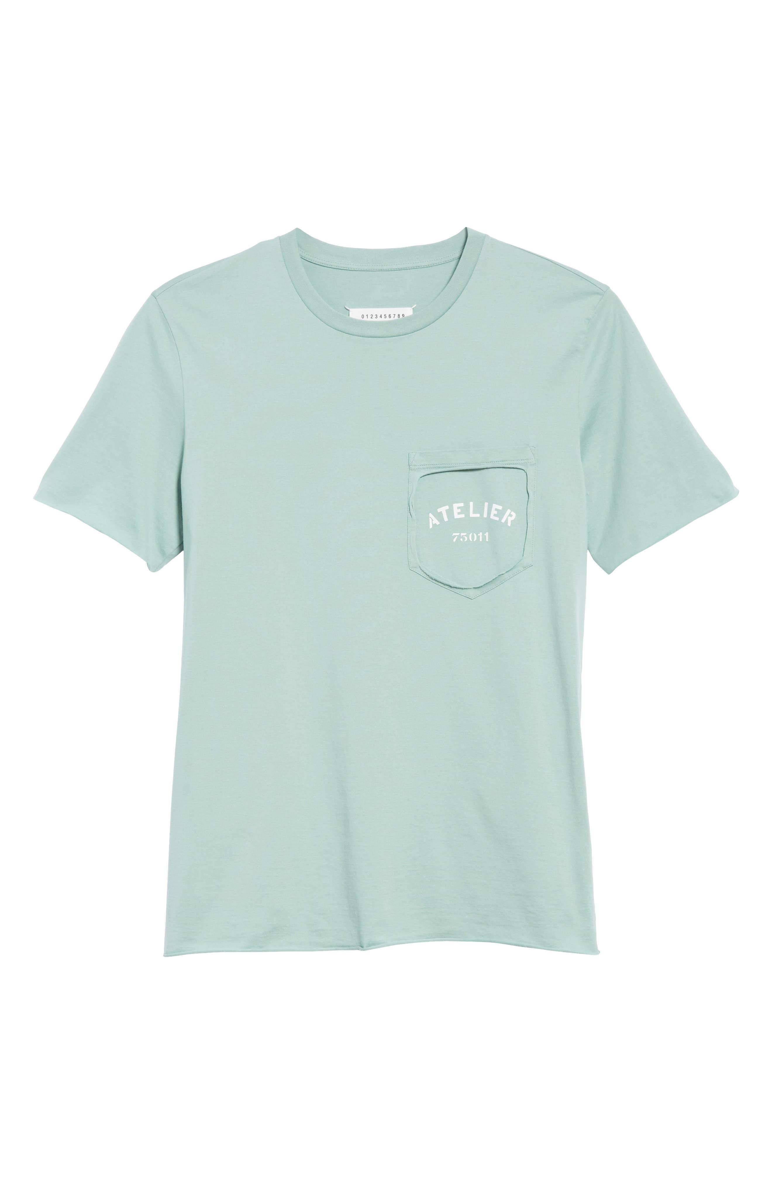 Missing Pocket T-Shirt,                             Alternate thumbnail 6, color,                             330