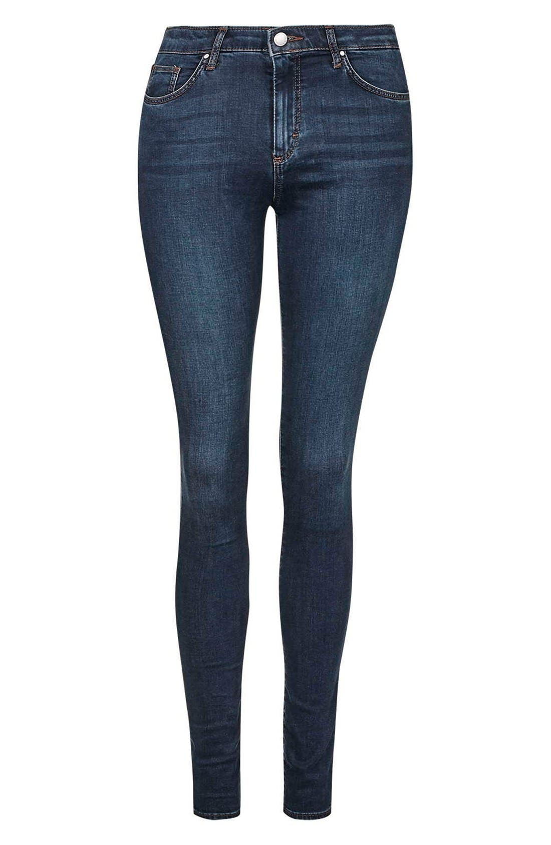 Moto 'Leigh' Skinny Jeans,                             Alternate thumbnail 2, color,                             400