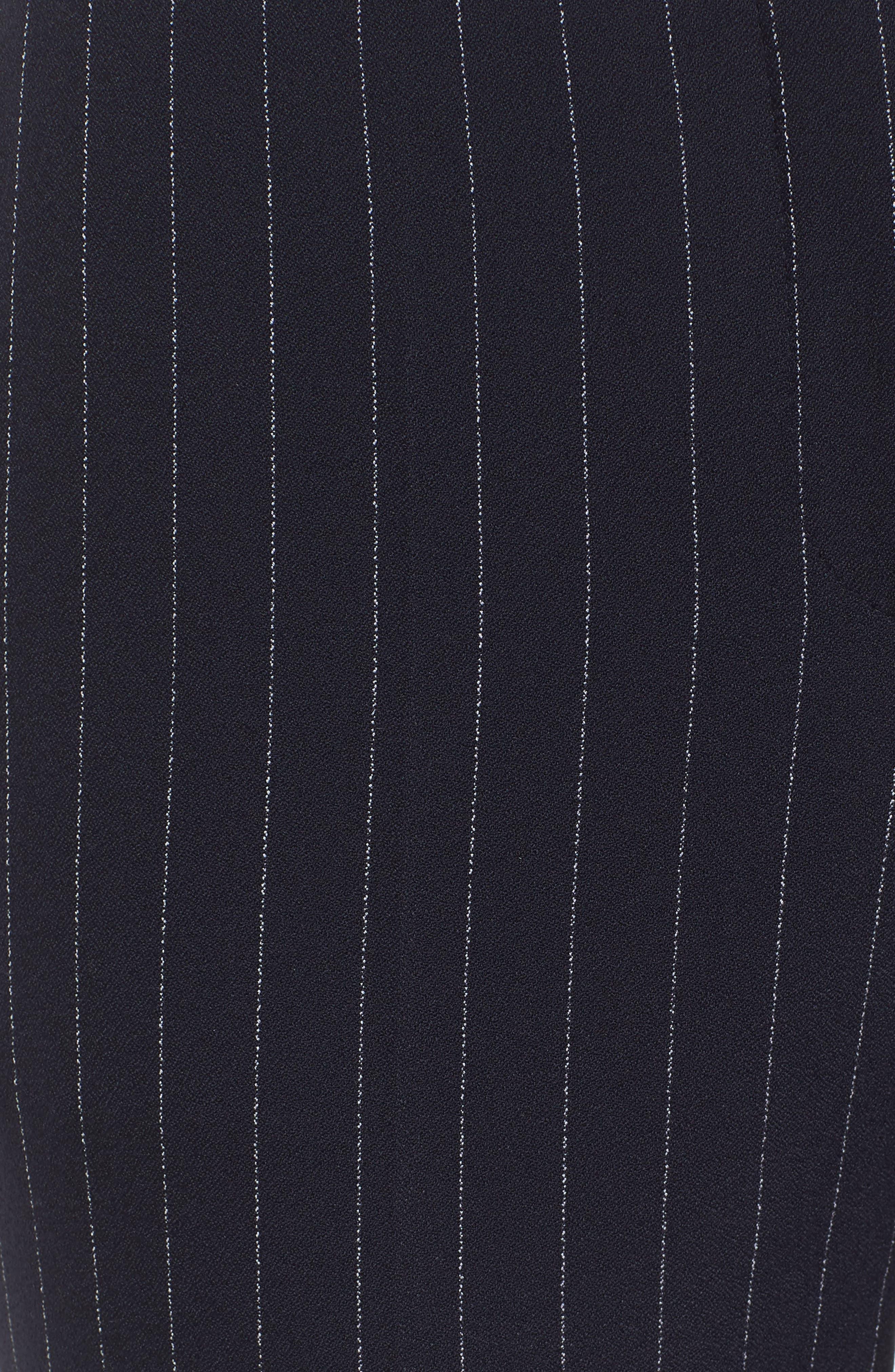 Titana Pinstripe Suit Trousers,                             Alternate thumbnail 6, color,                             461