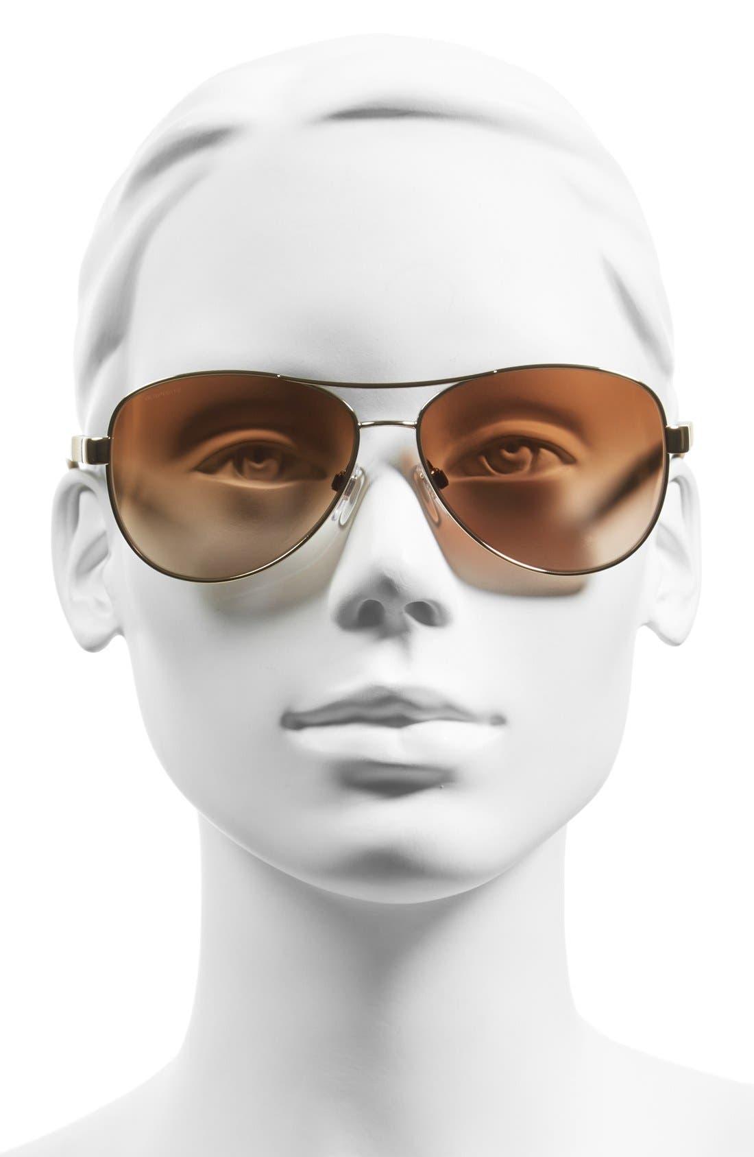 59mm Aviator Sunglasses,                             Alternate thumbnail 2, color,                             710