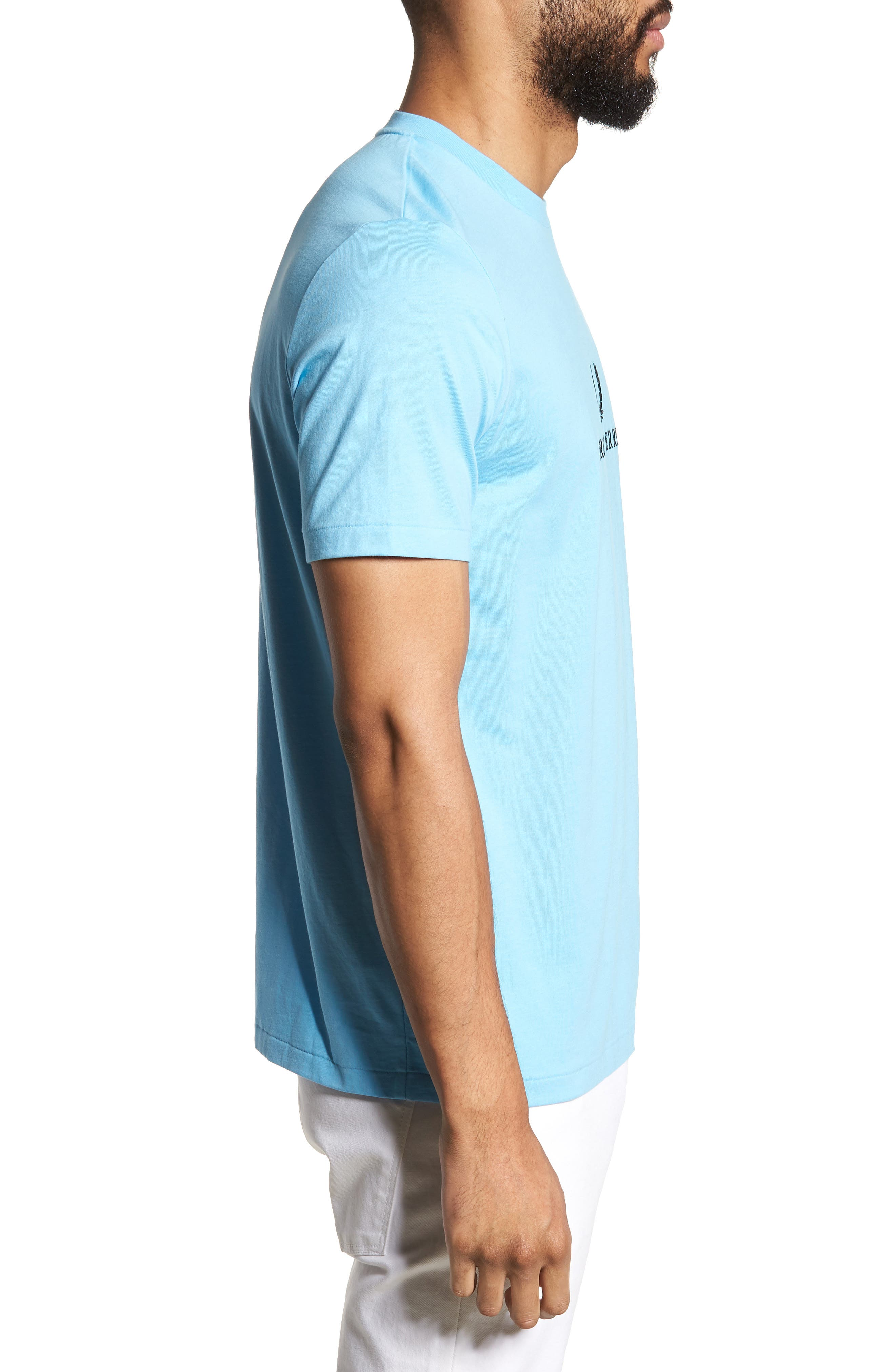 Embroidered T-Shirt,                             Alternate thumbnail 3, color,                             400