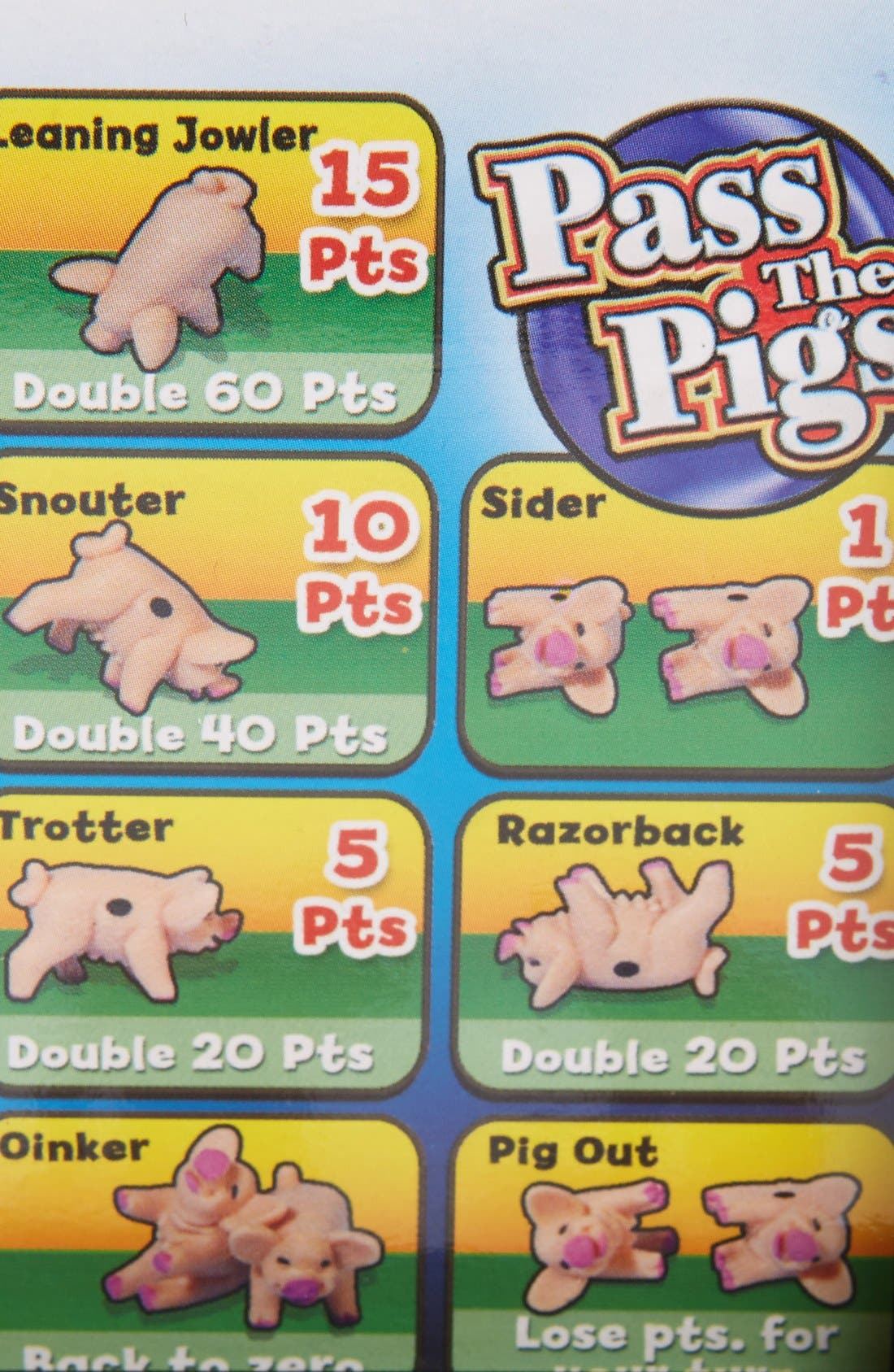 Pass the Pigs Game,                             Alternate thumbnail 2, color,                             650