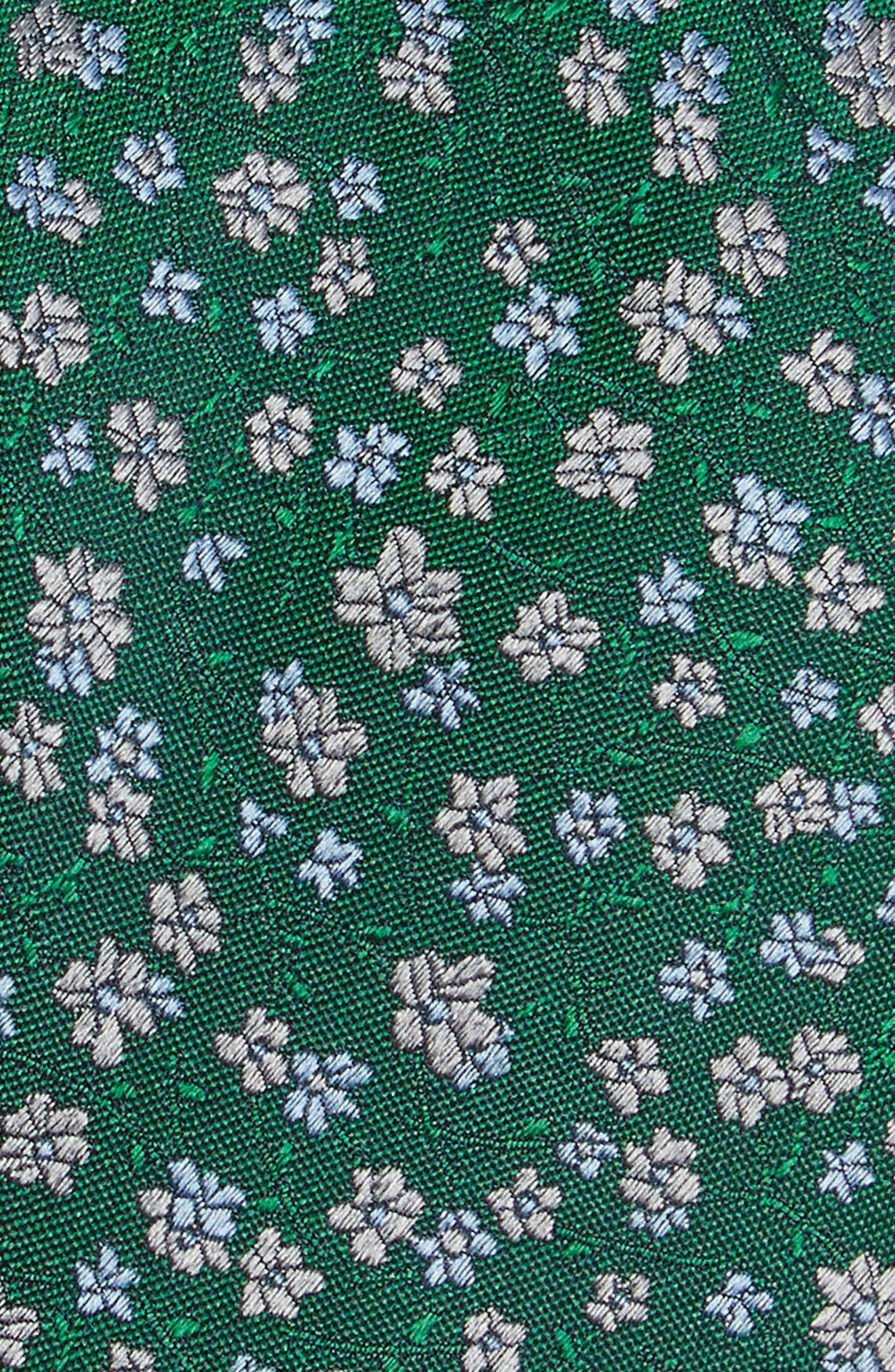 Freefall Floral Silk Tie,                             Alternate thumbnail 11, color,