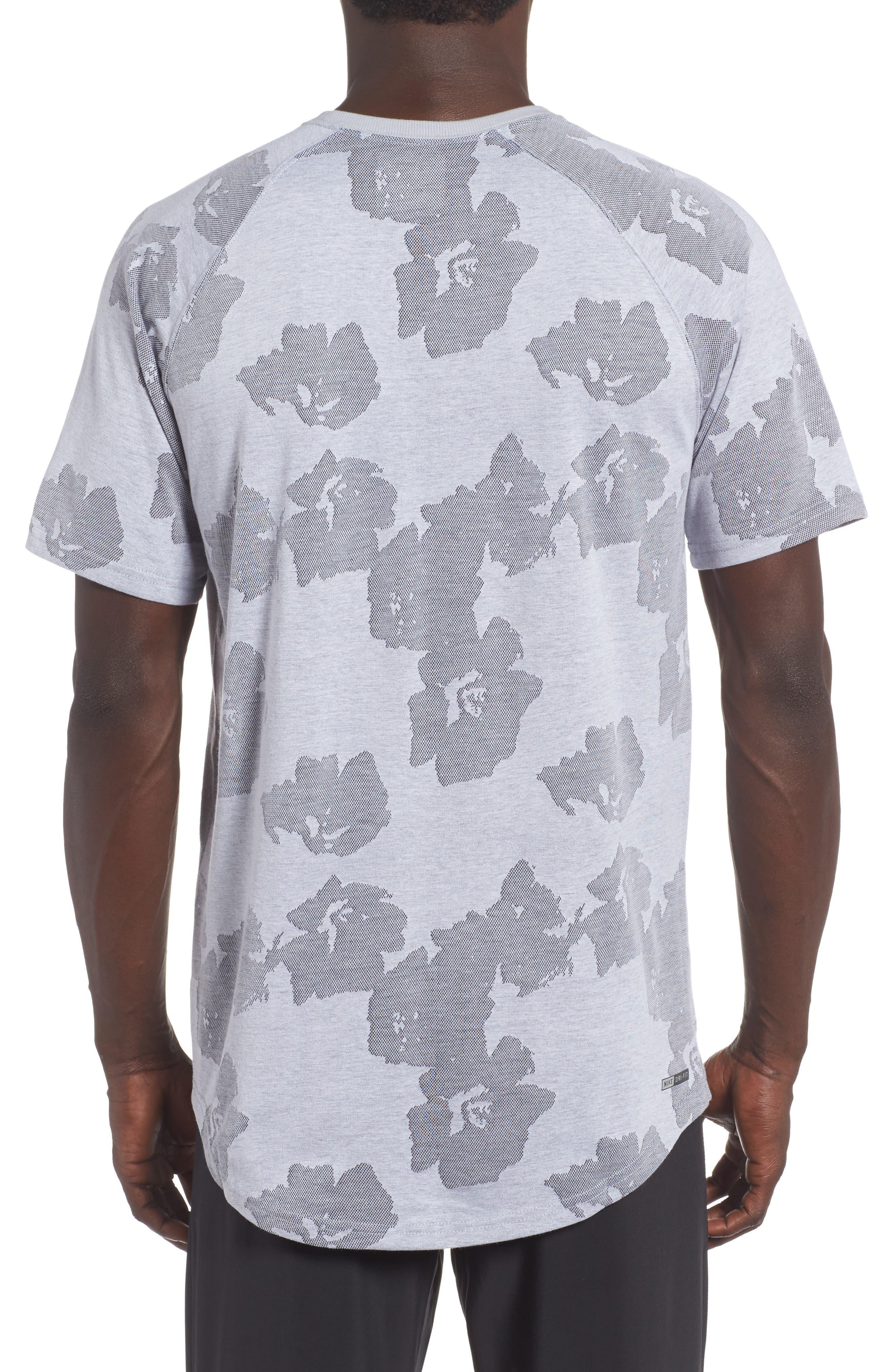 Aloha Dri-FIT T-Shirt,                             Alternate thumbnail 2, color,