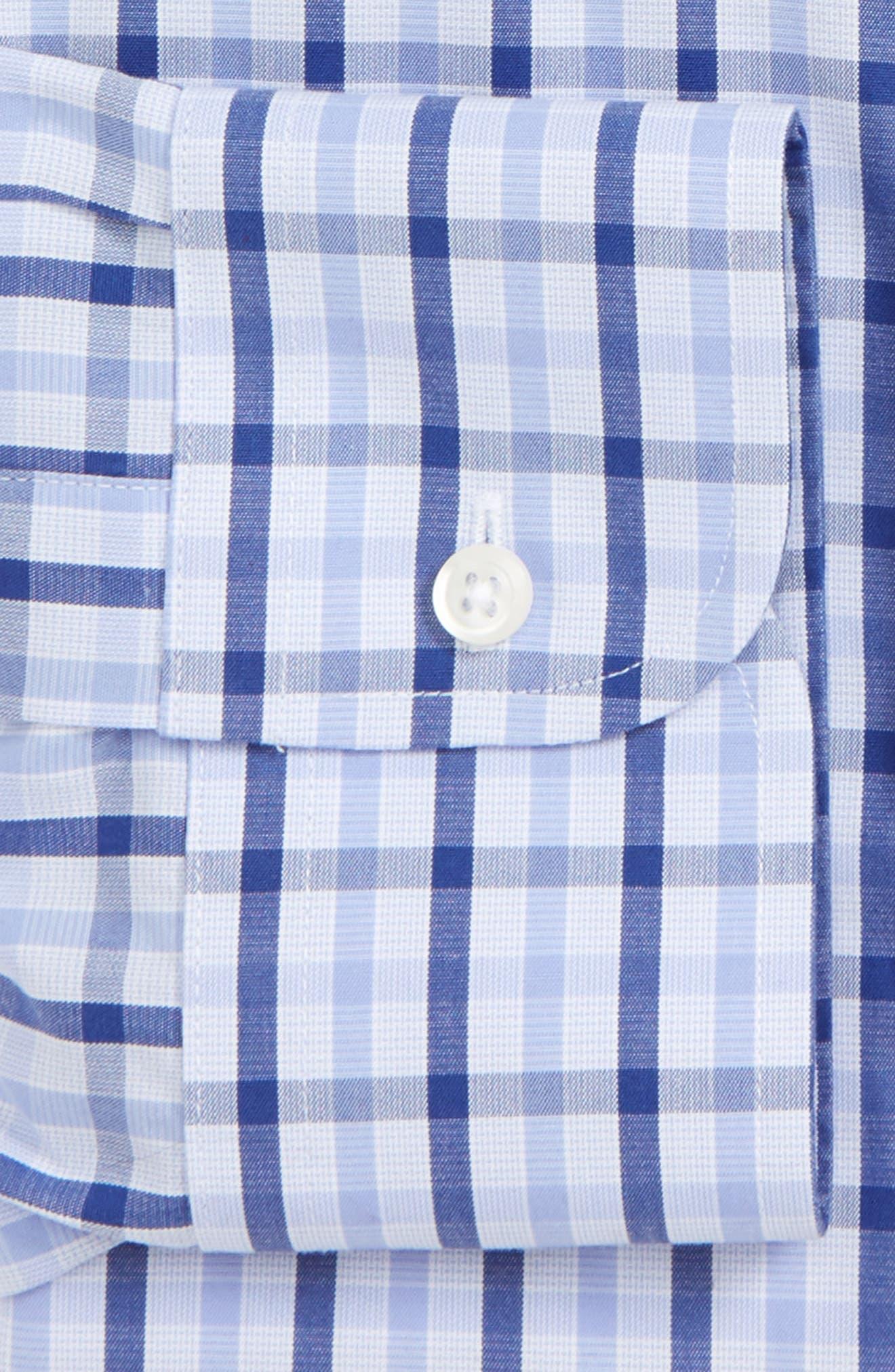 Smartcare<sup>™</sup> Classic Fit Check Dress Shirt,                         Main,                         color, 420