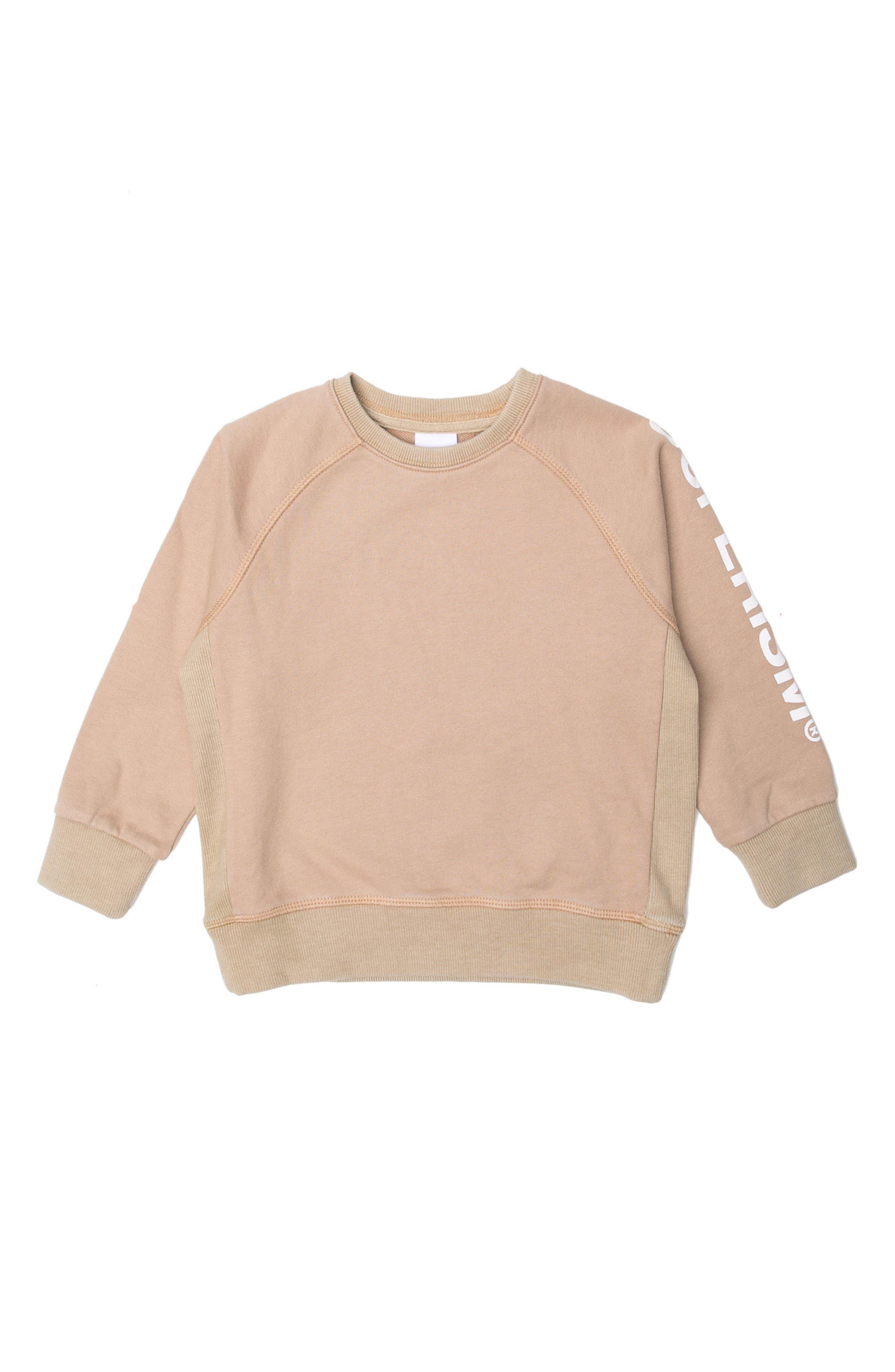 Andy Fleece Sweatshirt,                         Main,                         color, SAND