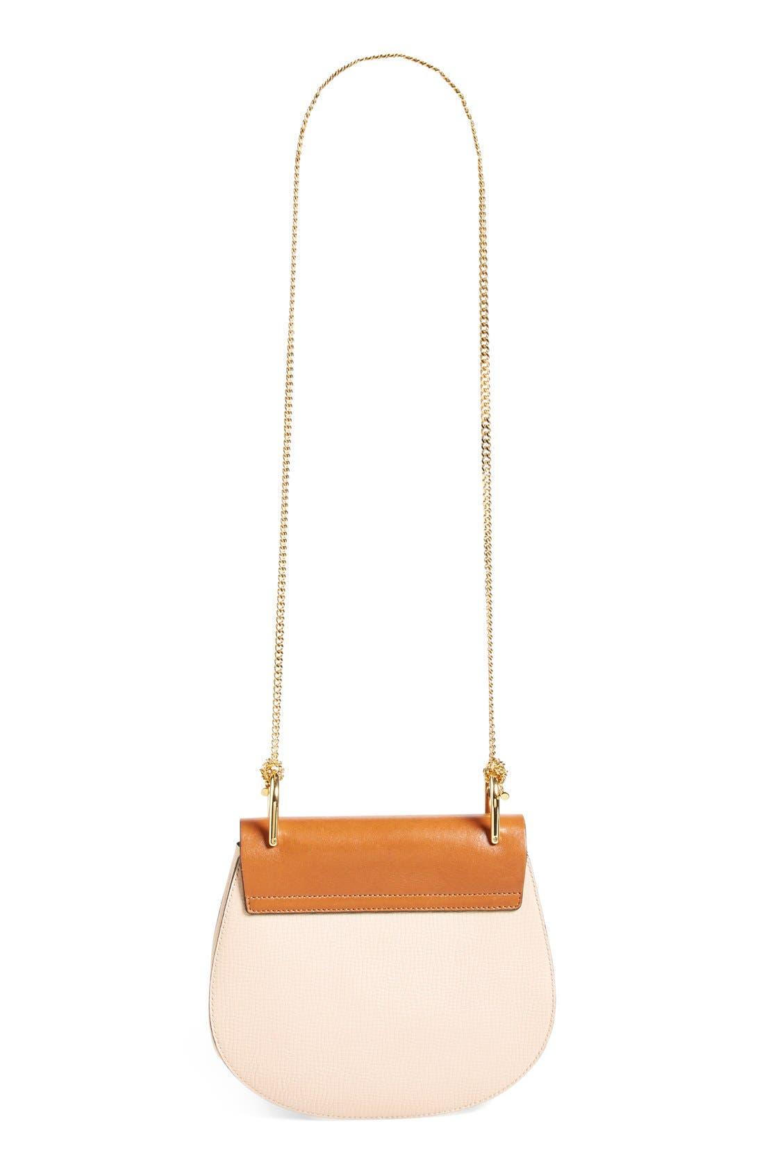 'Small Drew' Leather Shoulder Bag,                             Alternate thumbnail 5, color,                             250