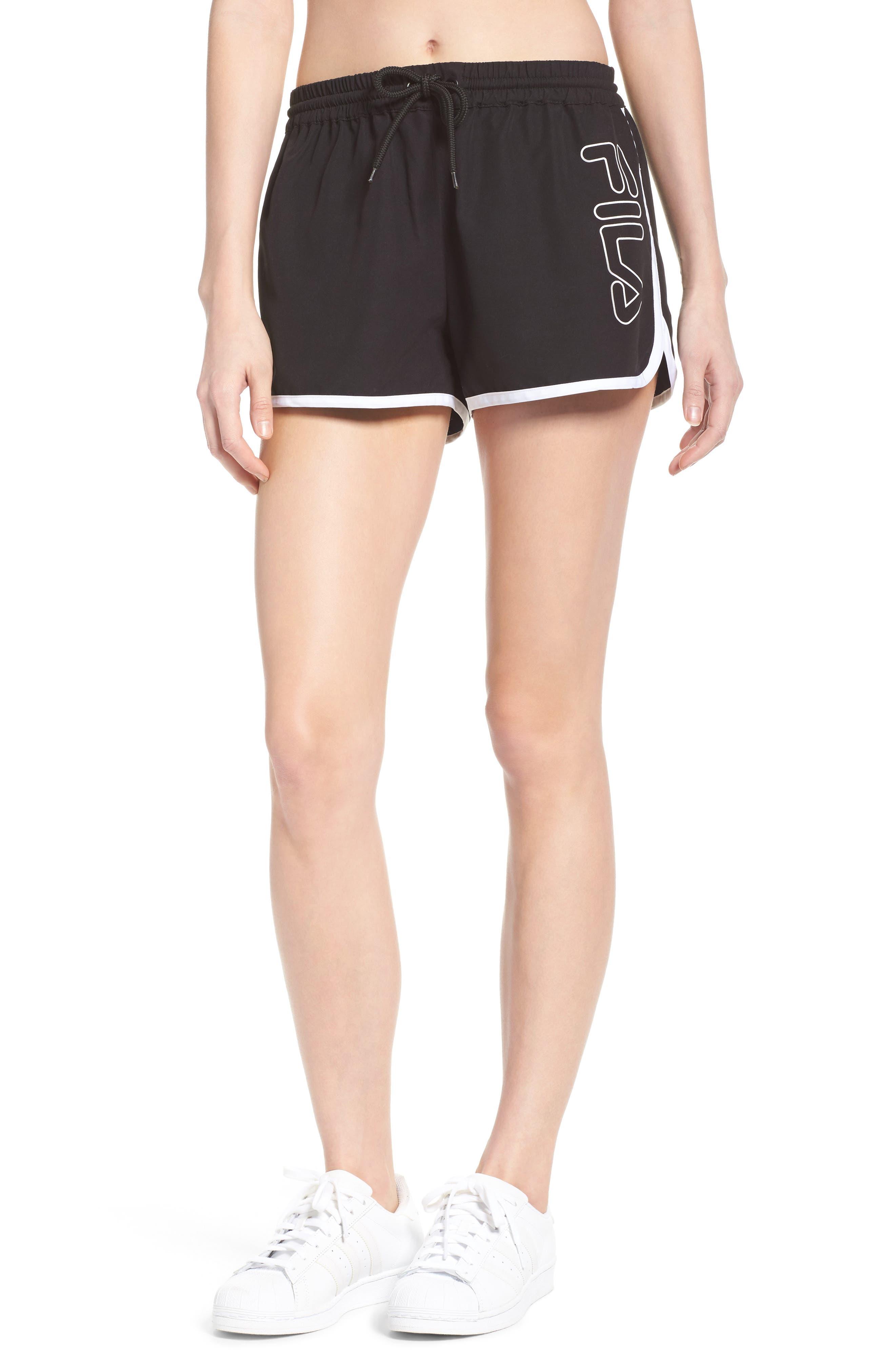 Conchetta Logo Shorts,                         Main,                         color, 001