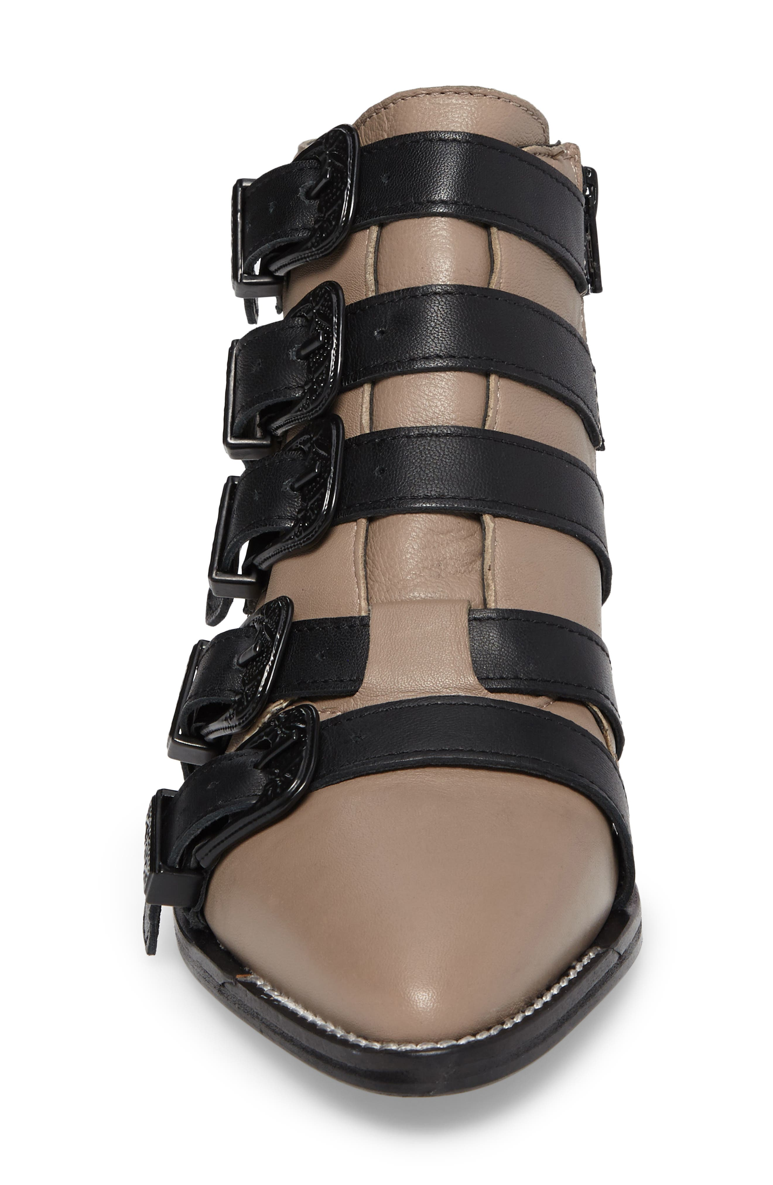 Andi Multi Buckle Boot,                             Alternate thumbnail 8, color,