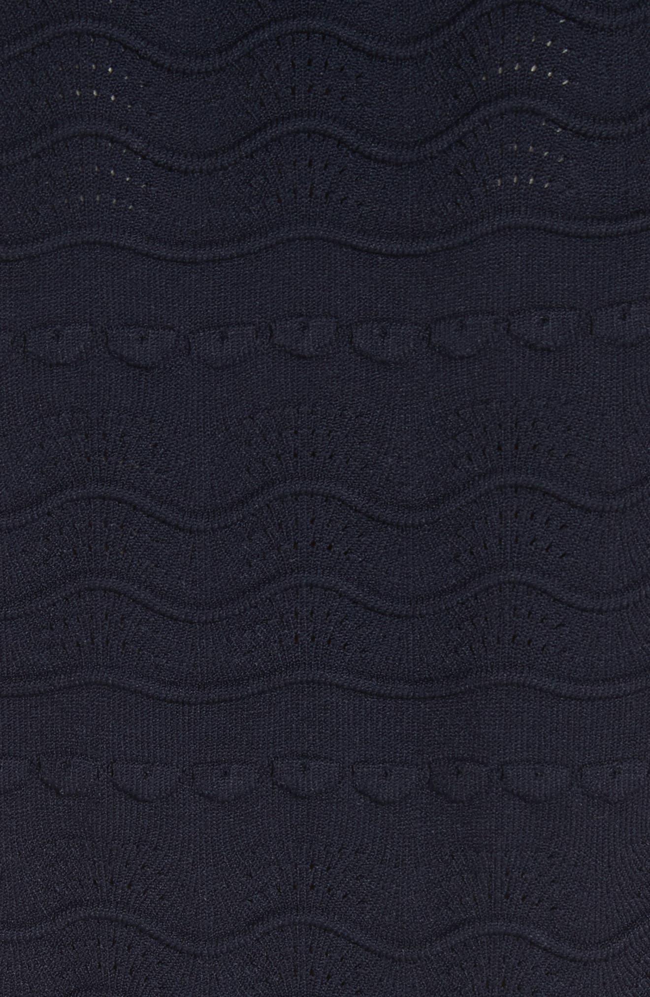 kate spade textured sweater dress,                             Alternate thumbnail 5, color,                             473