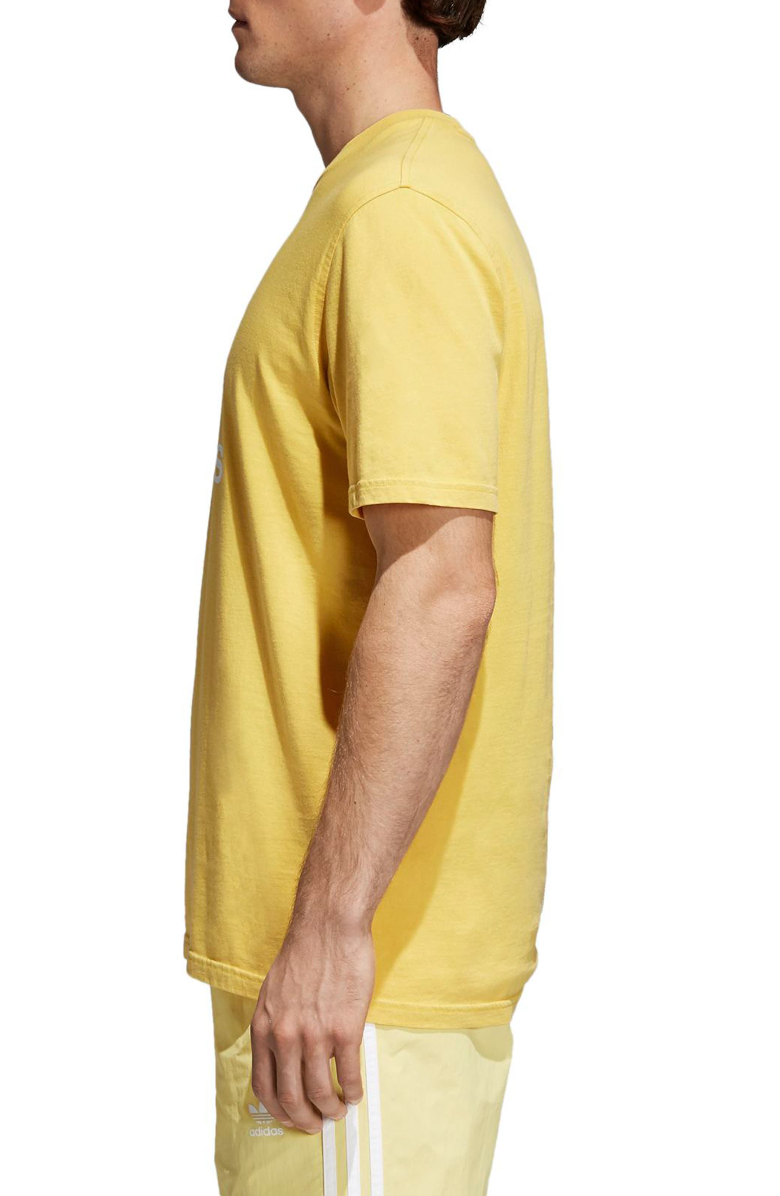 Trefoil T-Shirt,                             Alternate thumbnail 3, color,                             730