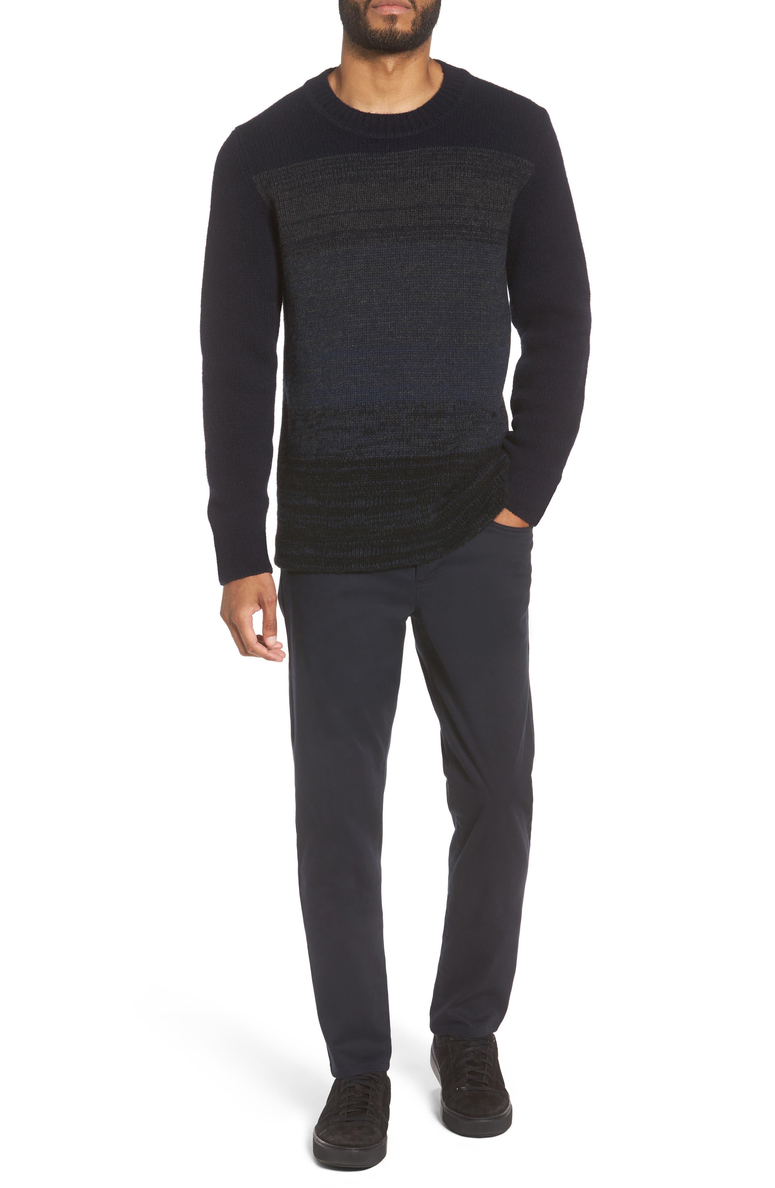 Soho Slim Fit Five-Pocket Pants,                             Alternate thumbnail 4, color,                             COASTAL