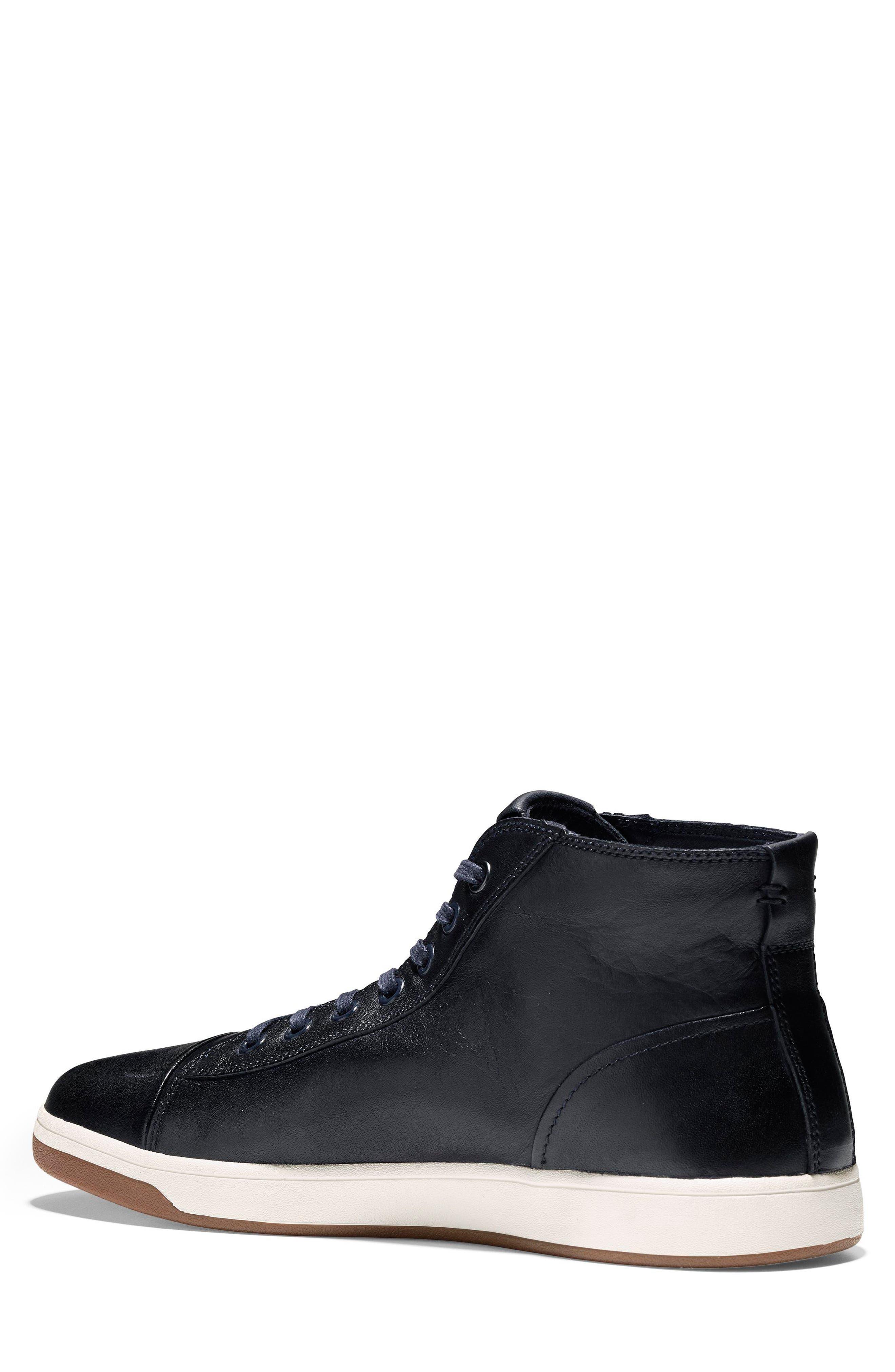 GrandPro High Top Sneaker,                             Alternate thumbnail 4, color,