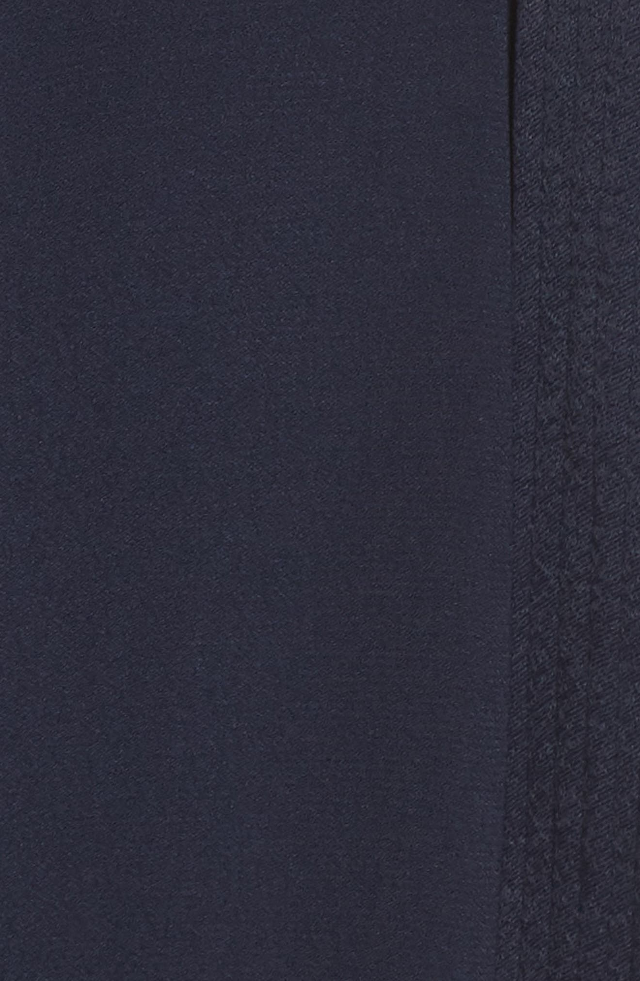 Surplice Jumpsuit,                             Alternate thumbnail 6, color,                             NAVY