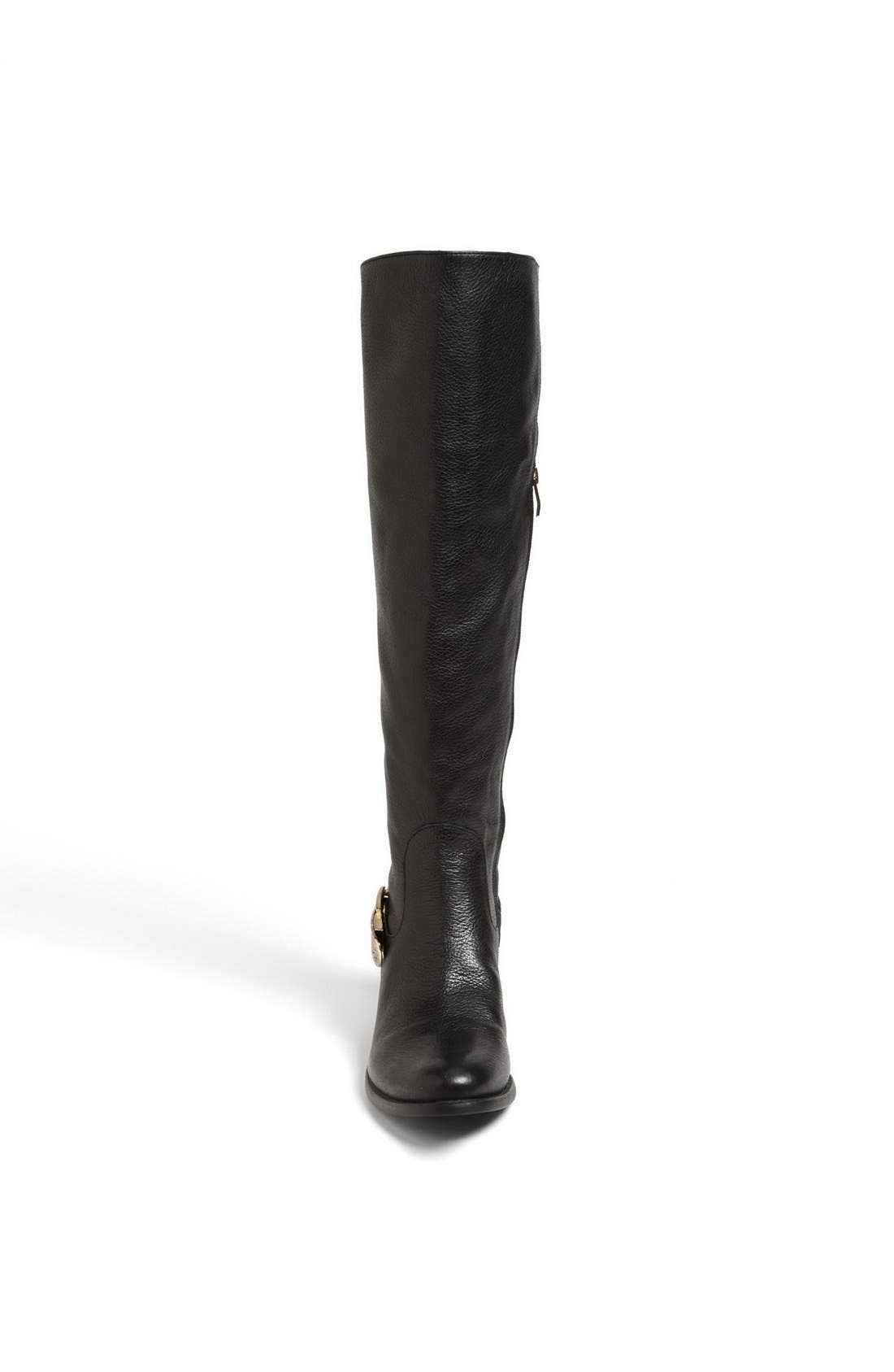 'Bedina' Over the Knee Boot,                             Alternate thumbnail 2, color,                             001
