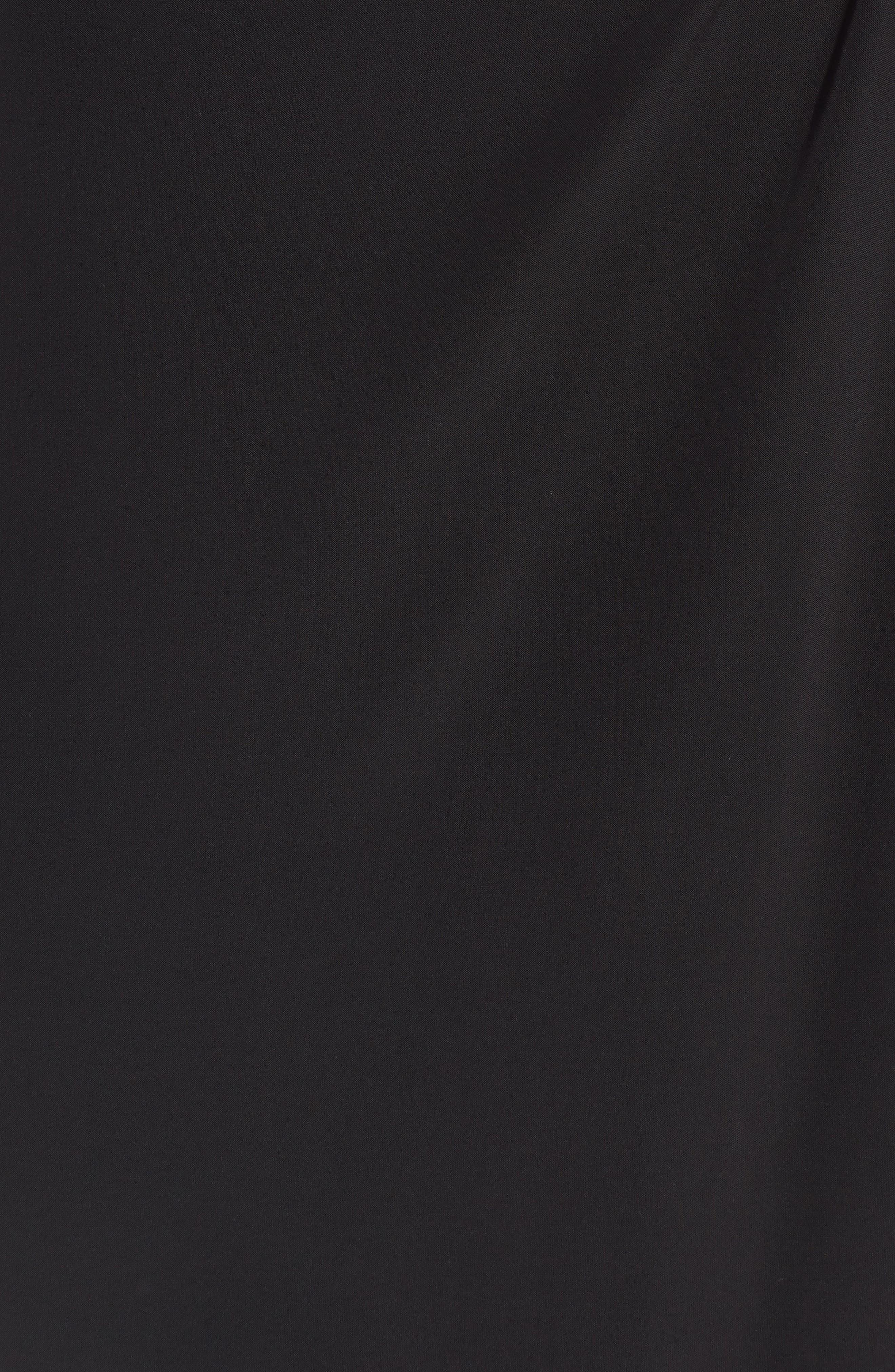 Irina Dress,                             Alternate thumbnail 6, color,                             BLACK