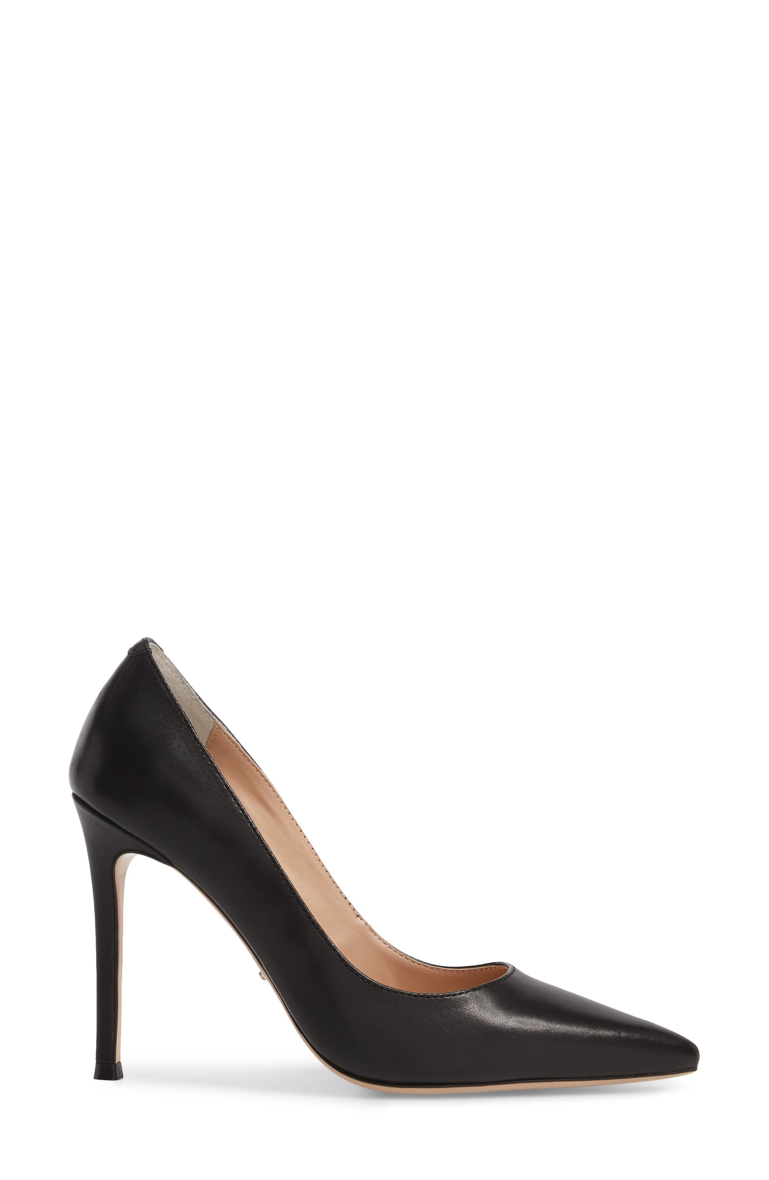 Lotus Pointy Toe Pump,                             Alternate thumbnail 3, color,                             001