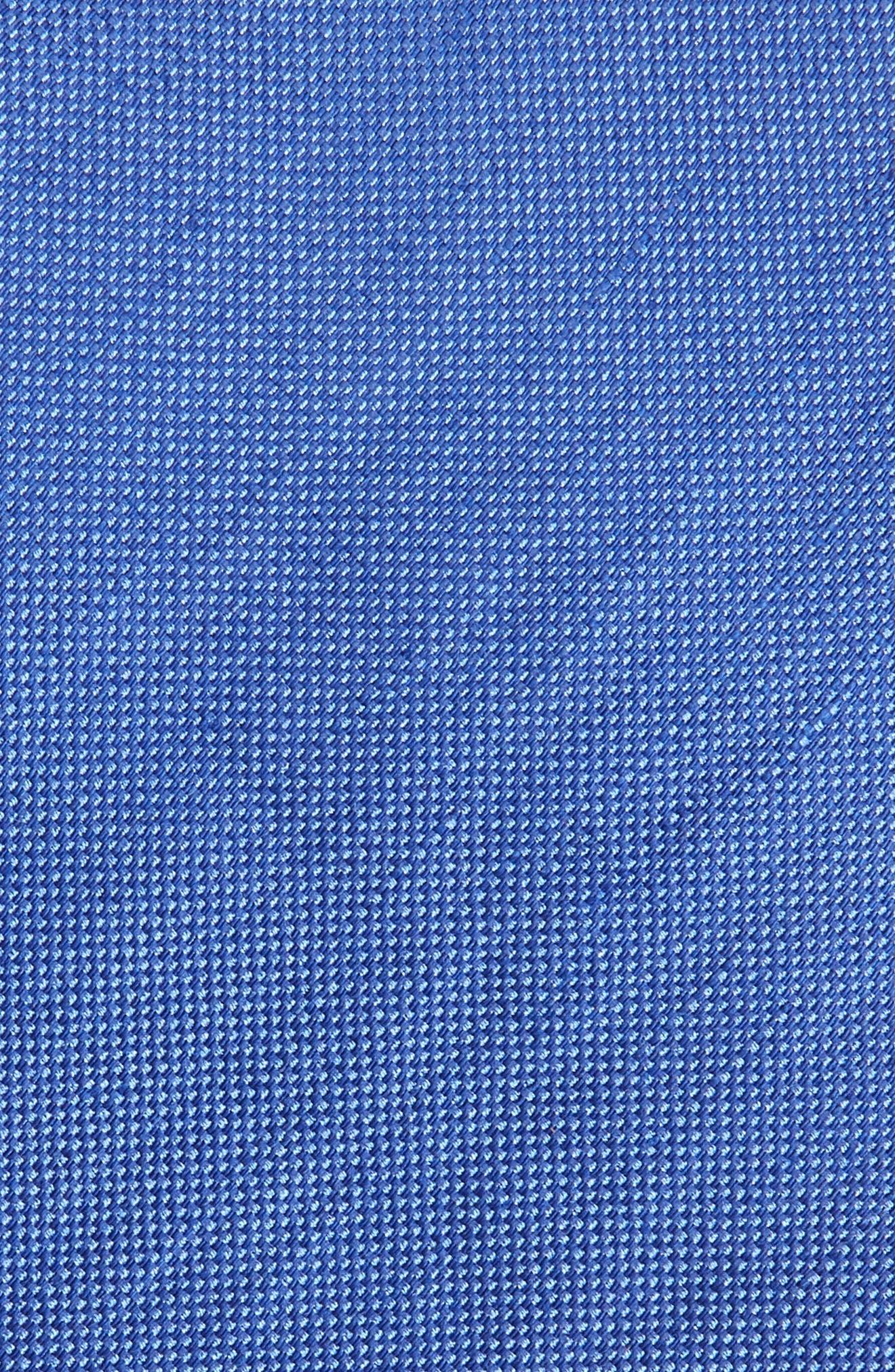 Solid Linen & Silk Tie,                             Alternate thumbnail 2, color,                             423