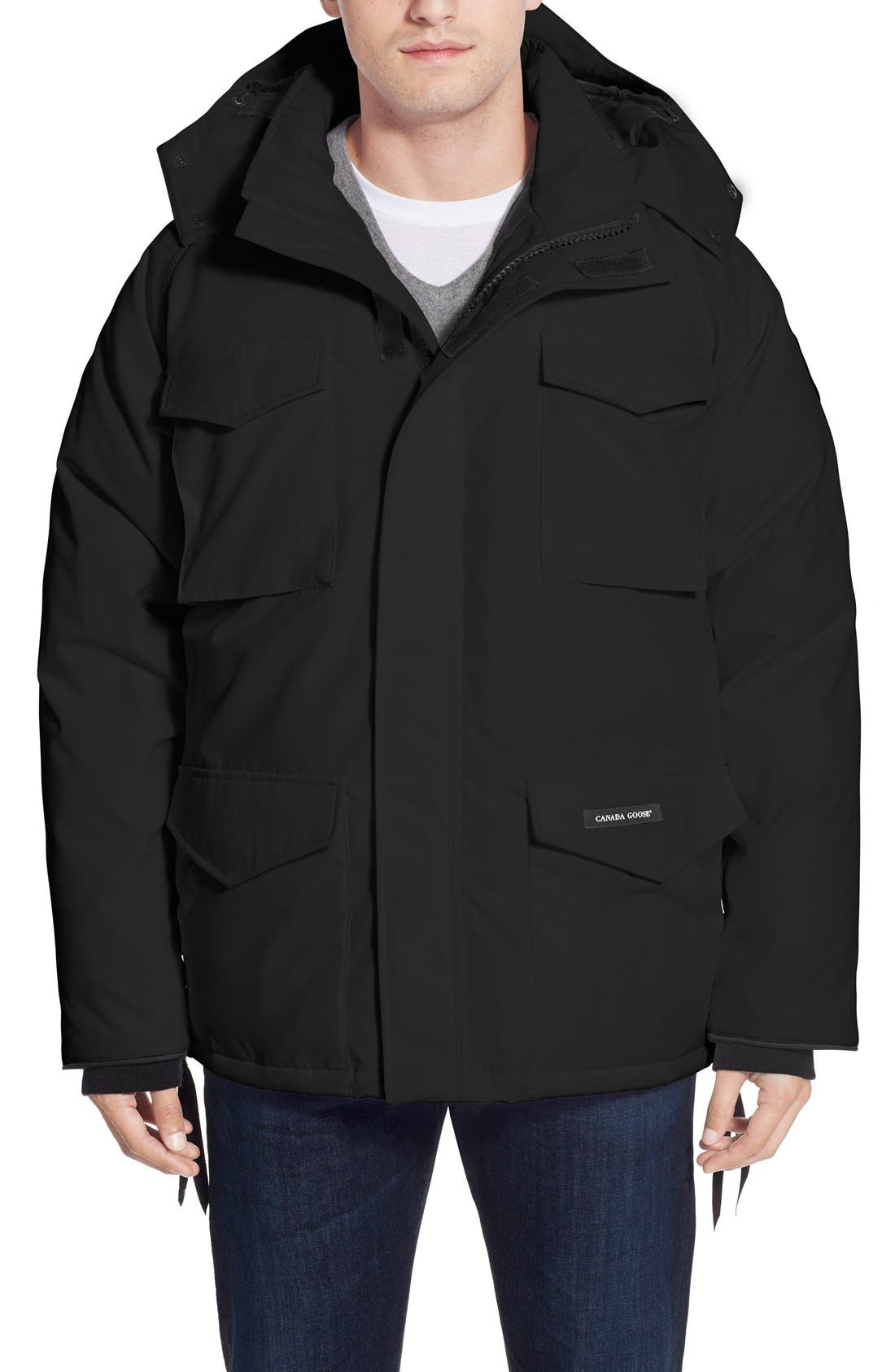 'Constable' Regular Fit Water Resistant Down Parka,                             Main thumbnail 1, color,