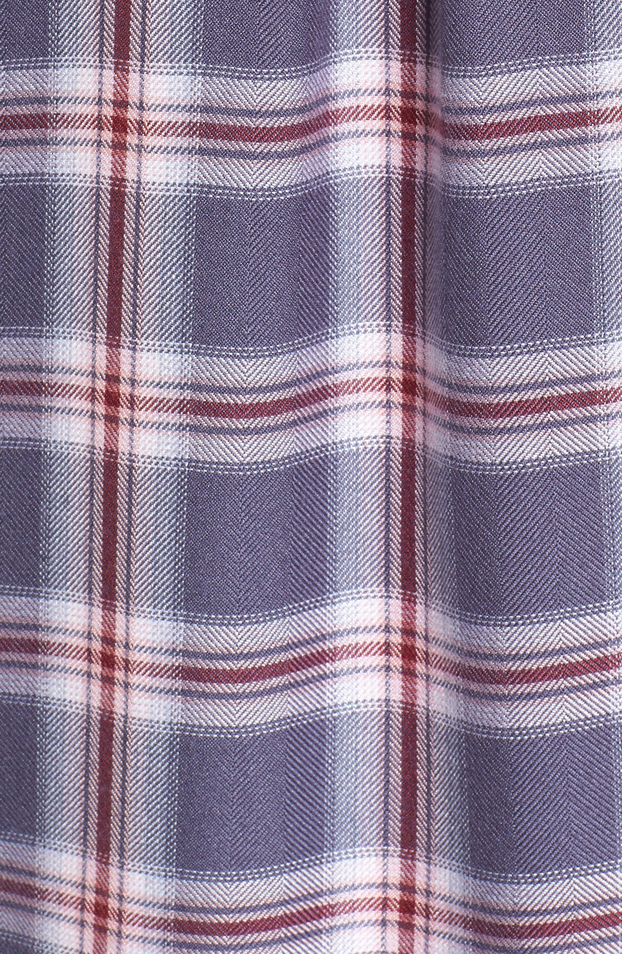 Hunter Plaid Shirt,                             Alternate thumbnail 590, color,