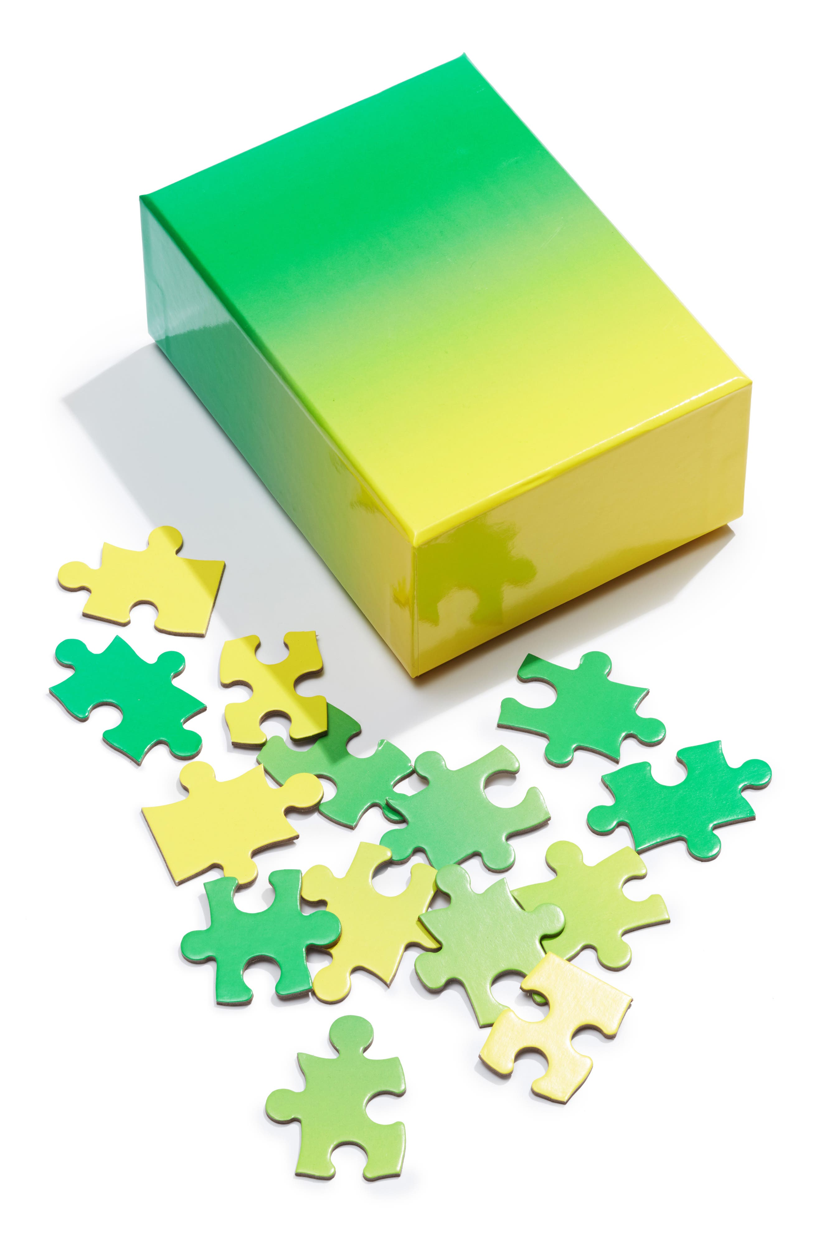 Small Gradient Jigsaw Puzzle,                         Main,                         color, 300