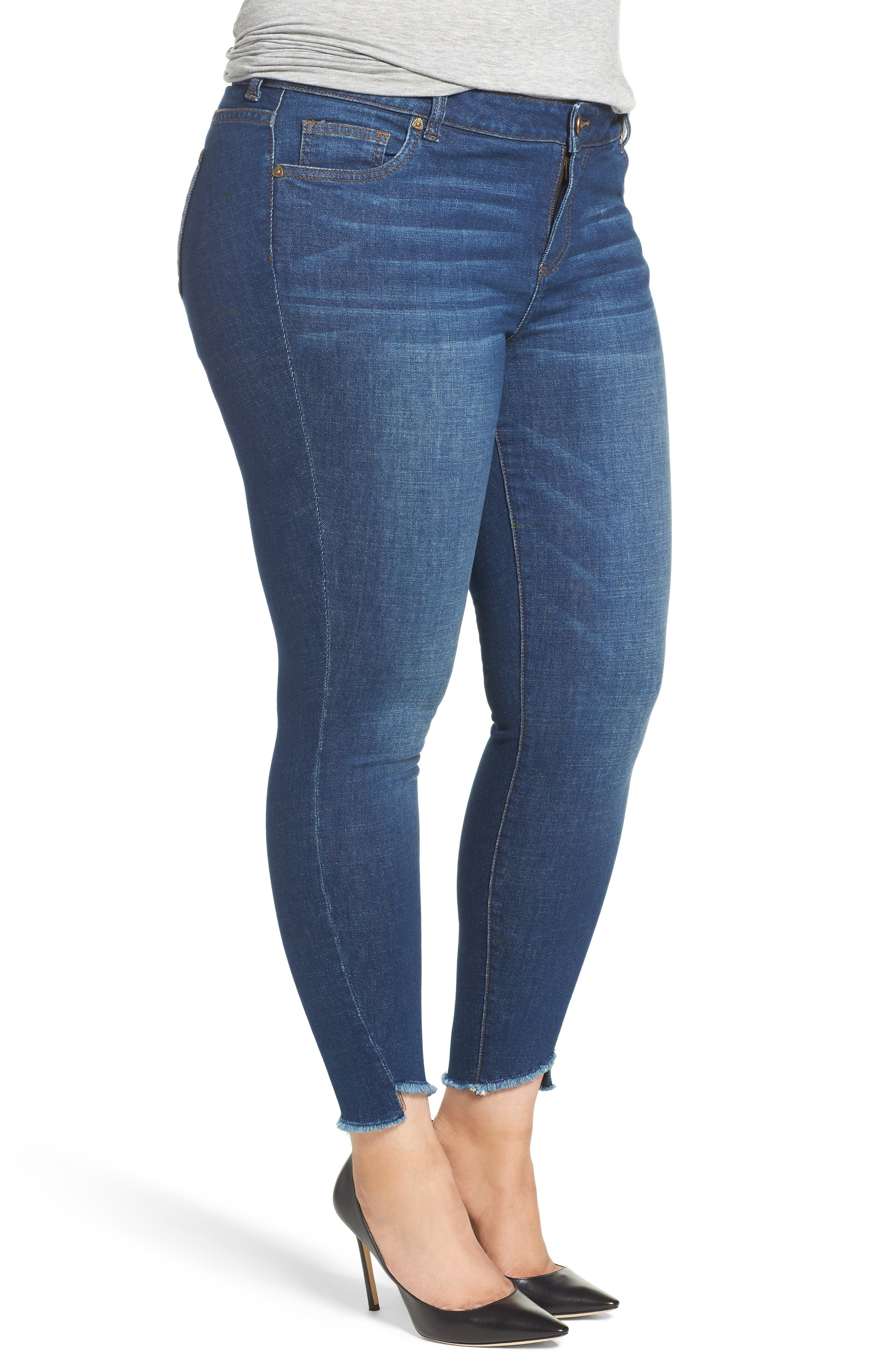 Skinny Ankle Jeans,                             Alternate thumbnail 3, color,