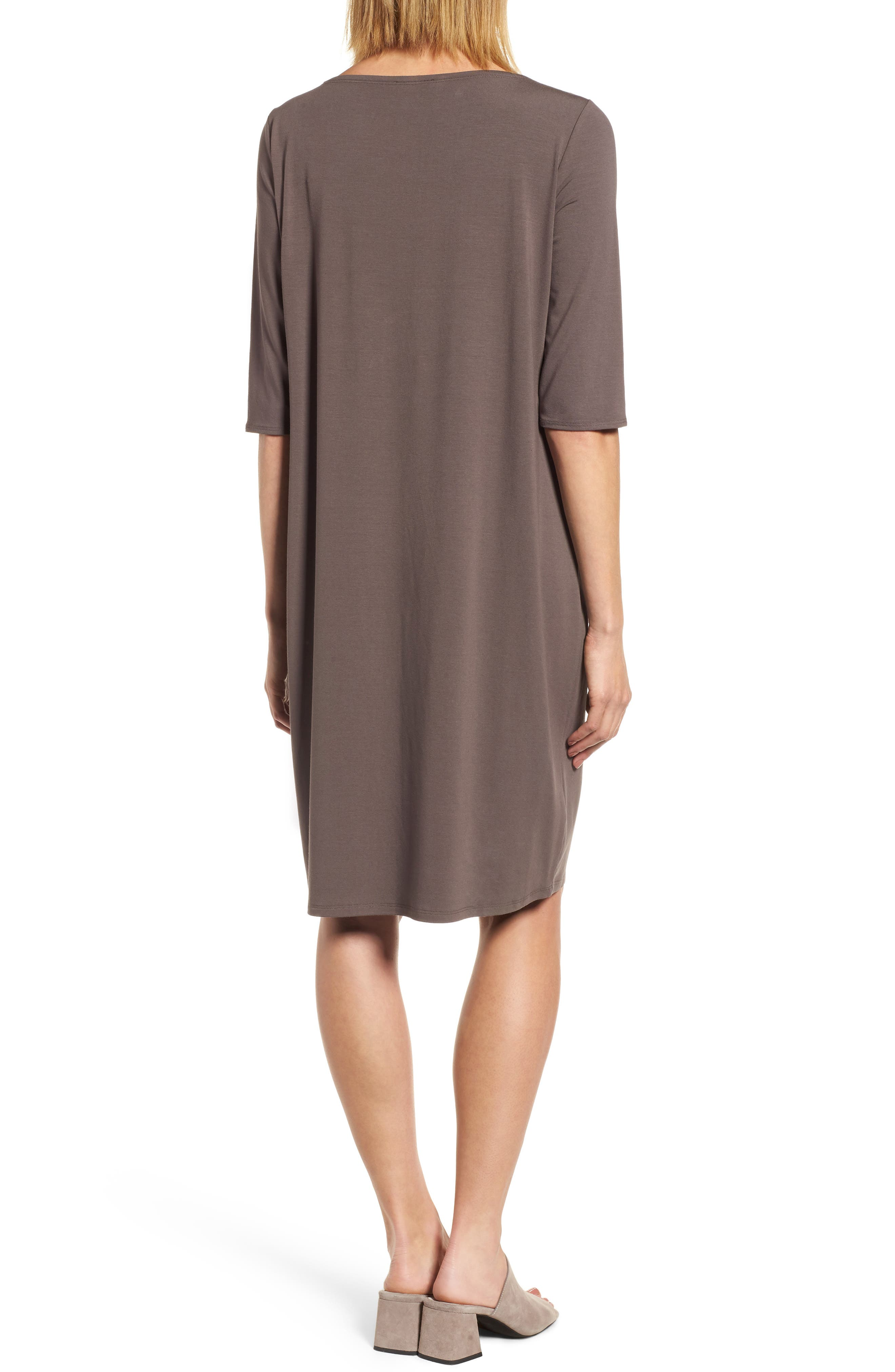 Jersey Shift Dress,                             Alternate thumbnail 5, color,