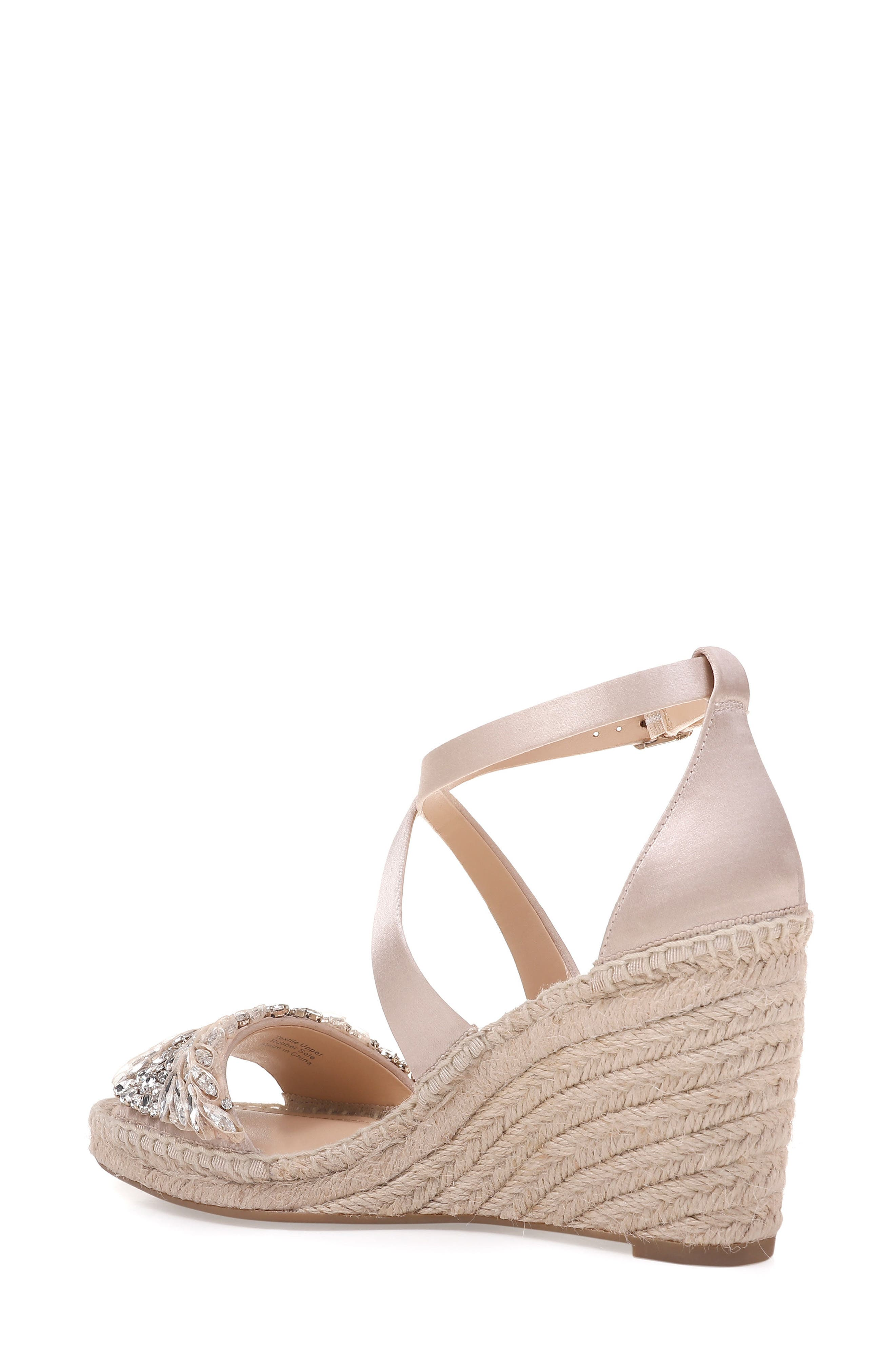 Scarlette Espadrille Wedge,                             Alternate thumbnail 4, color,
