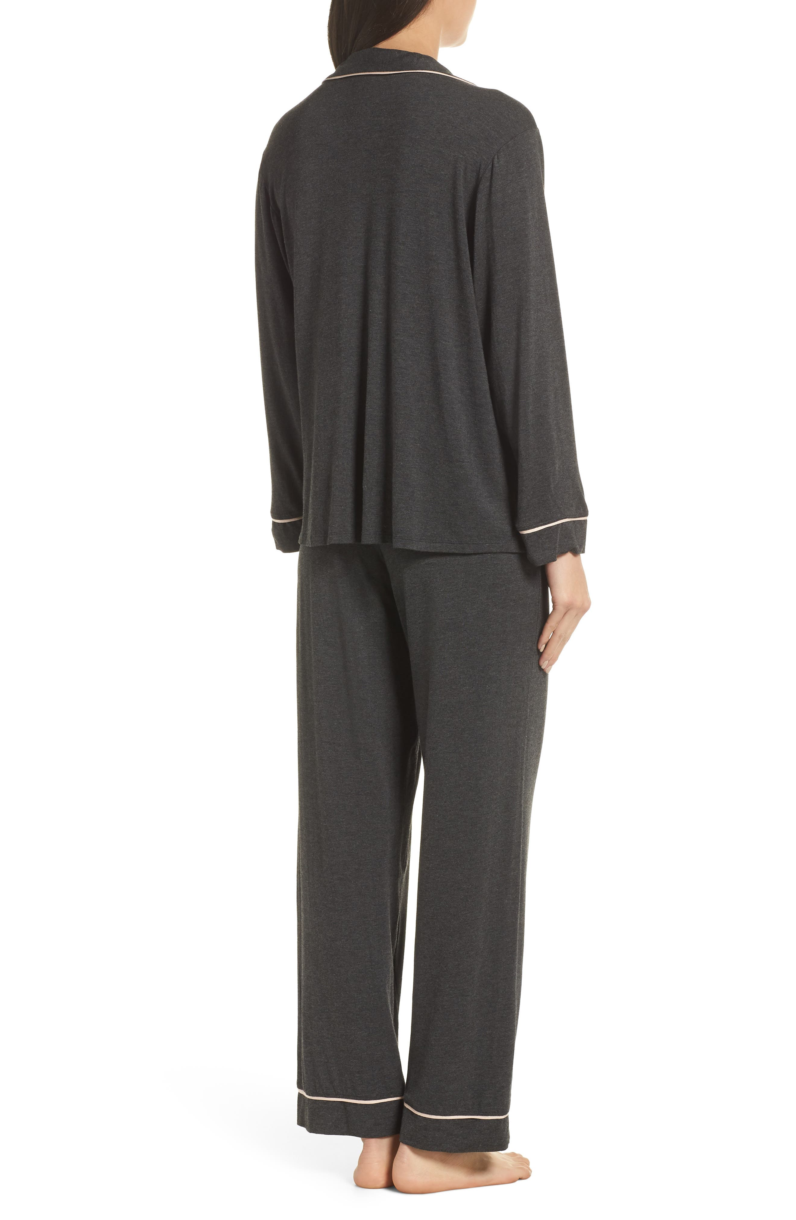 Gisele Pajamas,                             Alternate thumbnail 2, color,                             CHARCOAL/ BELLINI