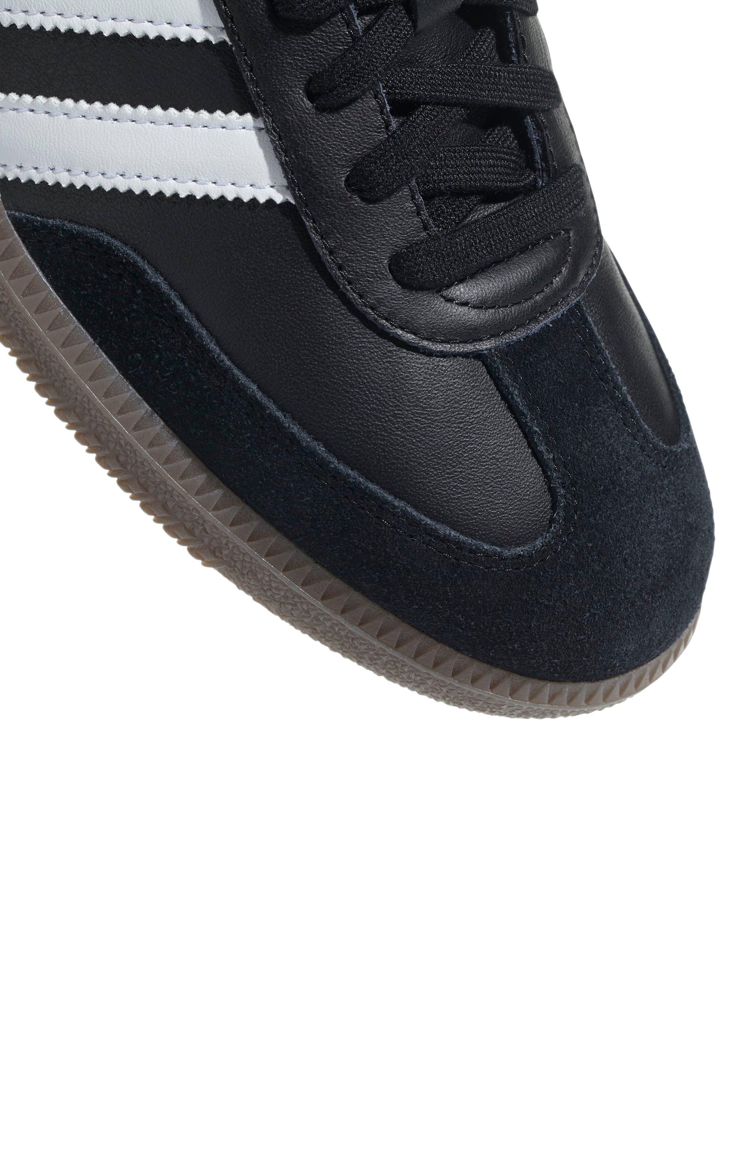 Samba OG Sneaker,                             Alternate thumbnail 7, color,                             BLACK/ WHITE/ GUM
