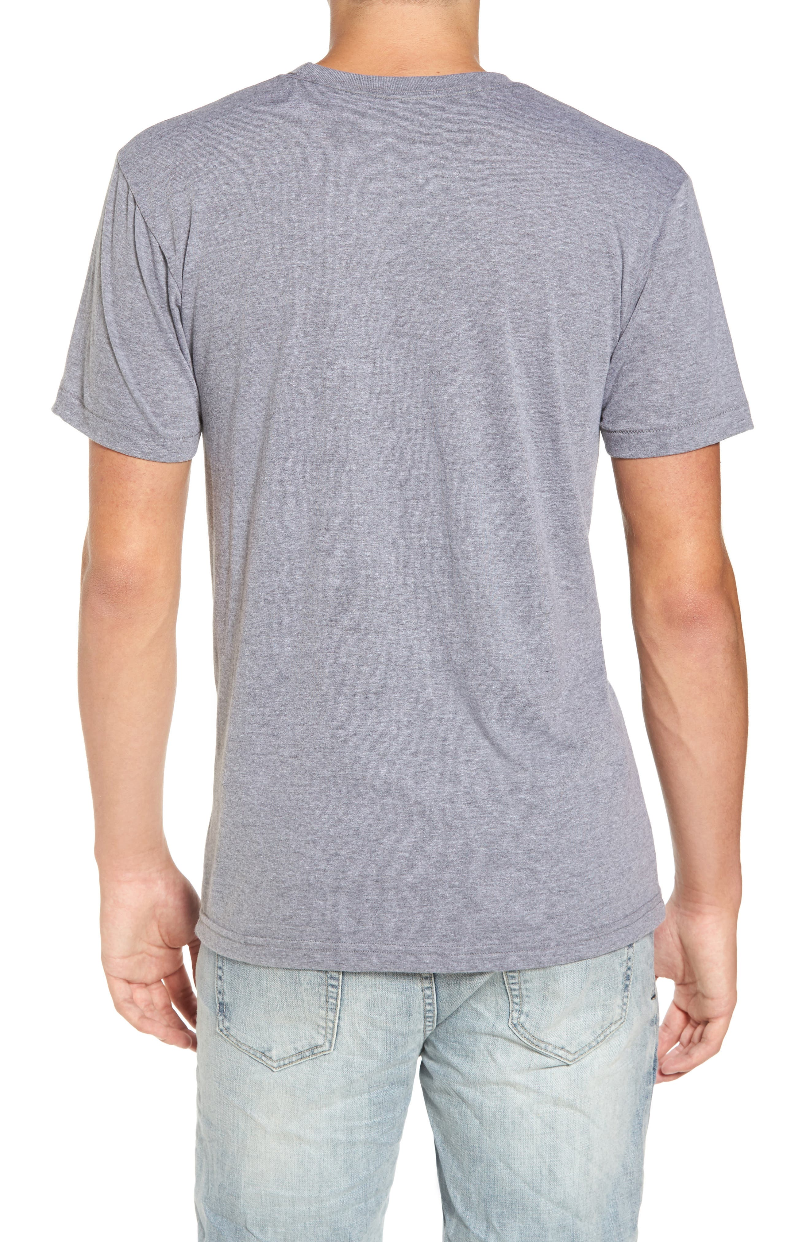 NW Trident Embroidered T-Shirt,                             Alternate thumbnail 5, color,