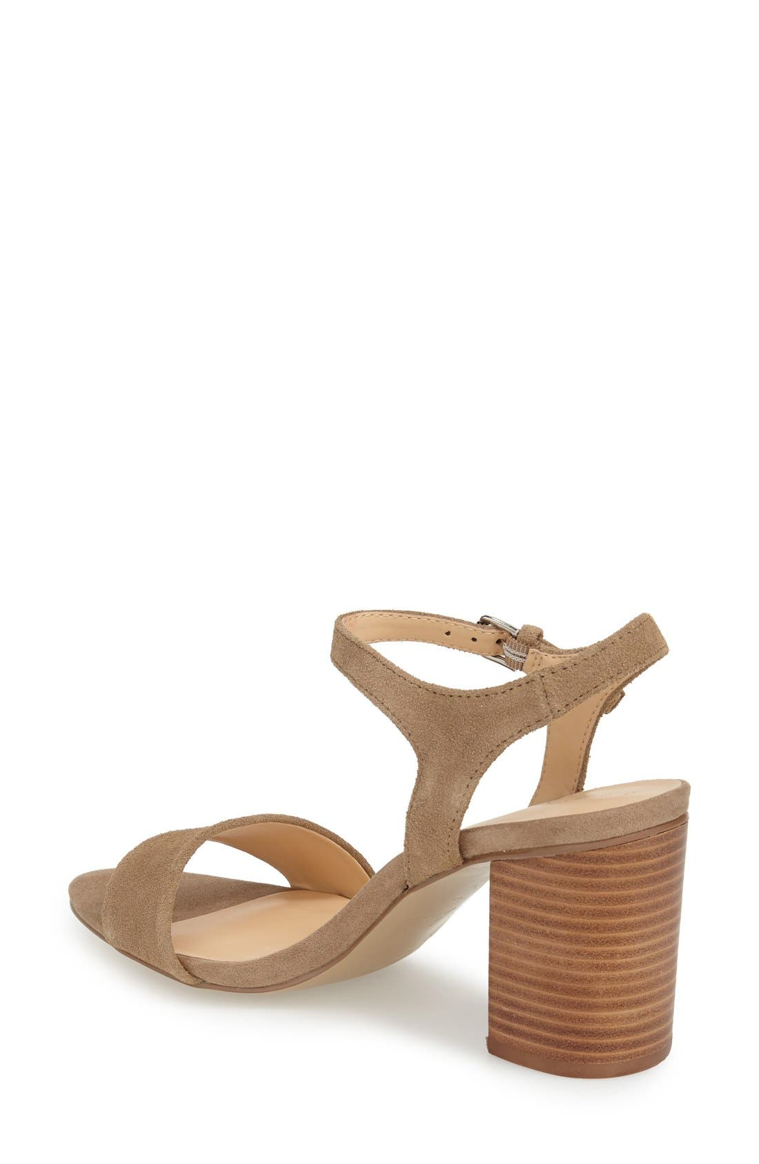 'Linny' Ankle Strap Sandal,                             Alternate thumbnail 8, color,