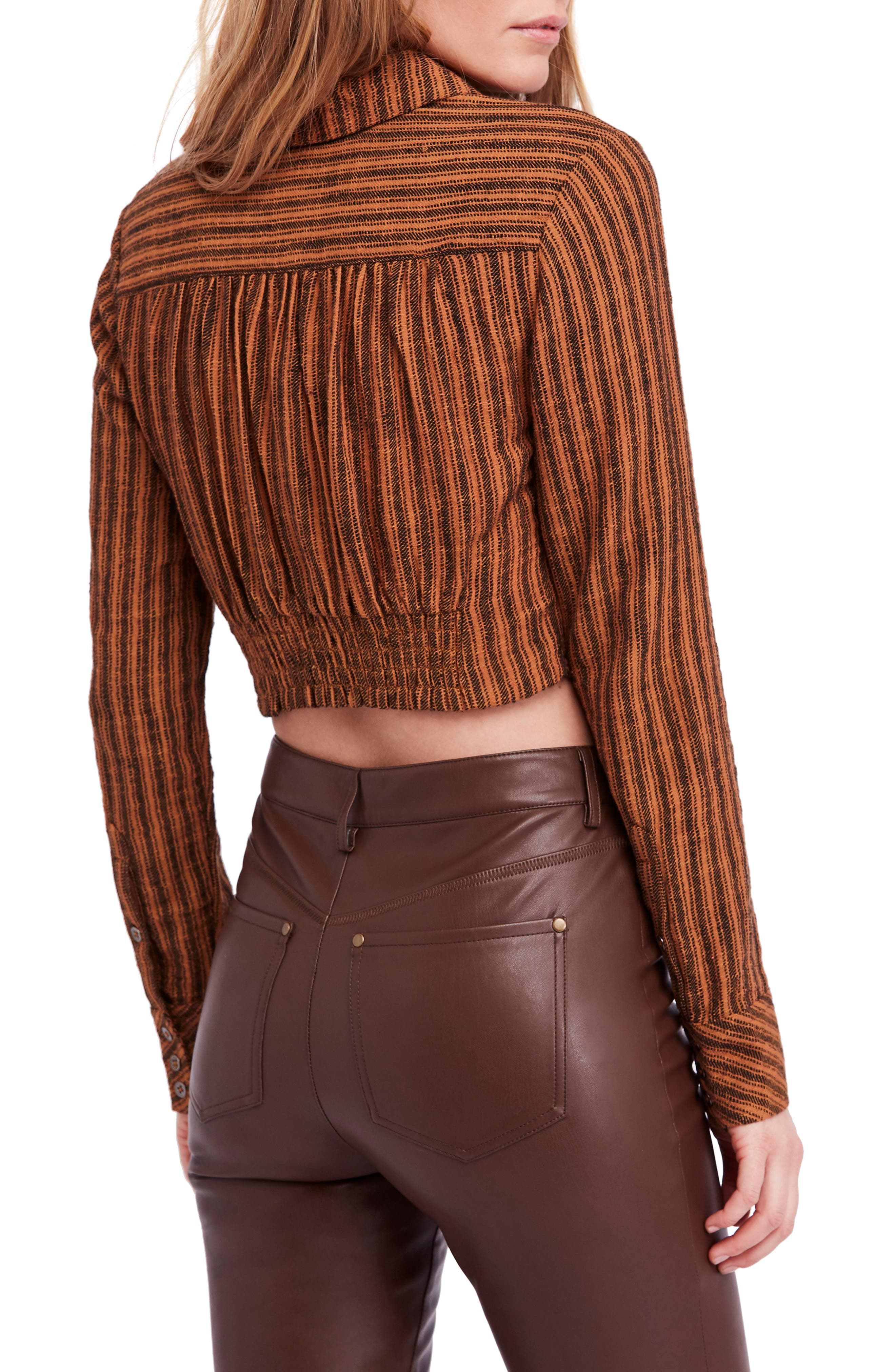 FREE PEOPLE,                             Lust for Life Twist Top,                             Alternate thumbnail 2, color,                             205