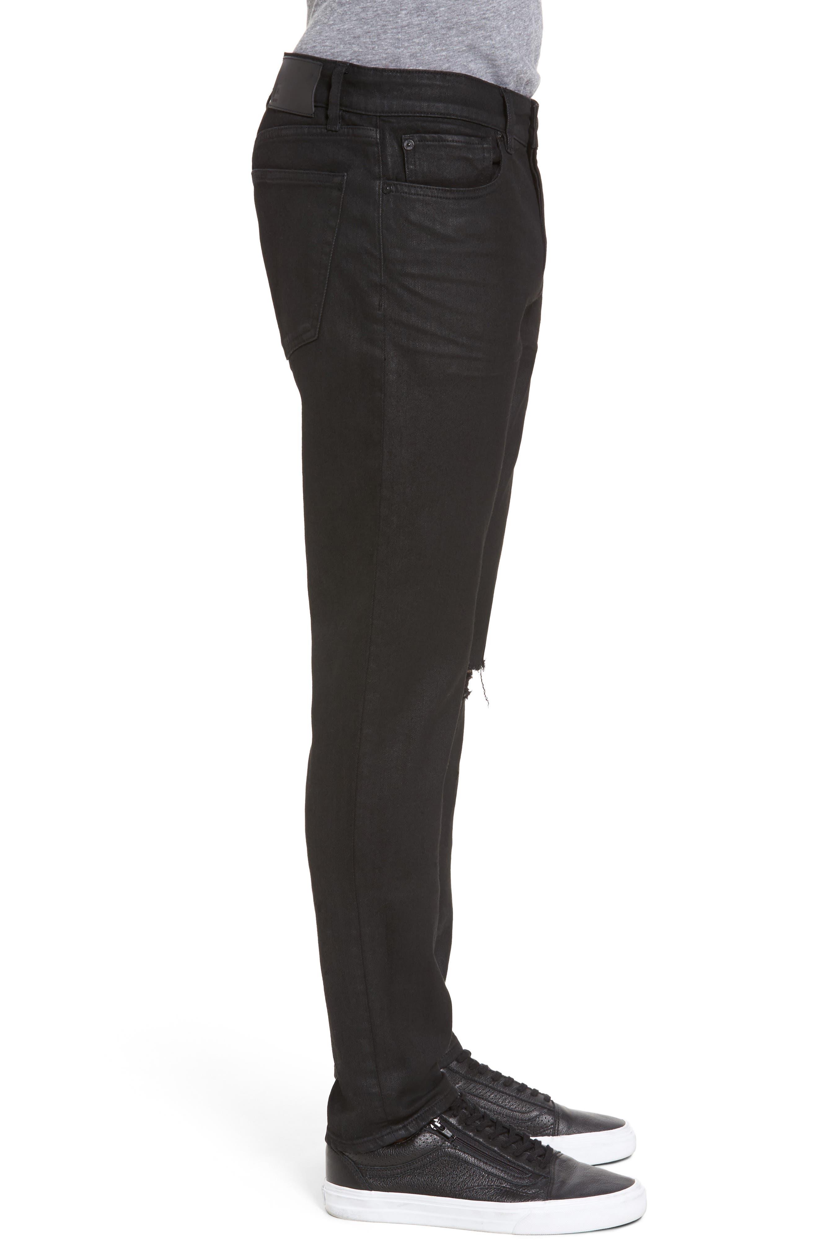 Hunter Skinny Jeans,                             Alternate thumbnail 3, color,                             VICE