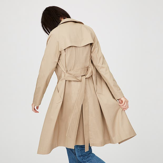 Pop-In@Nordstrom Welcomes Everlane: Women's draped trench coat, $138.