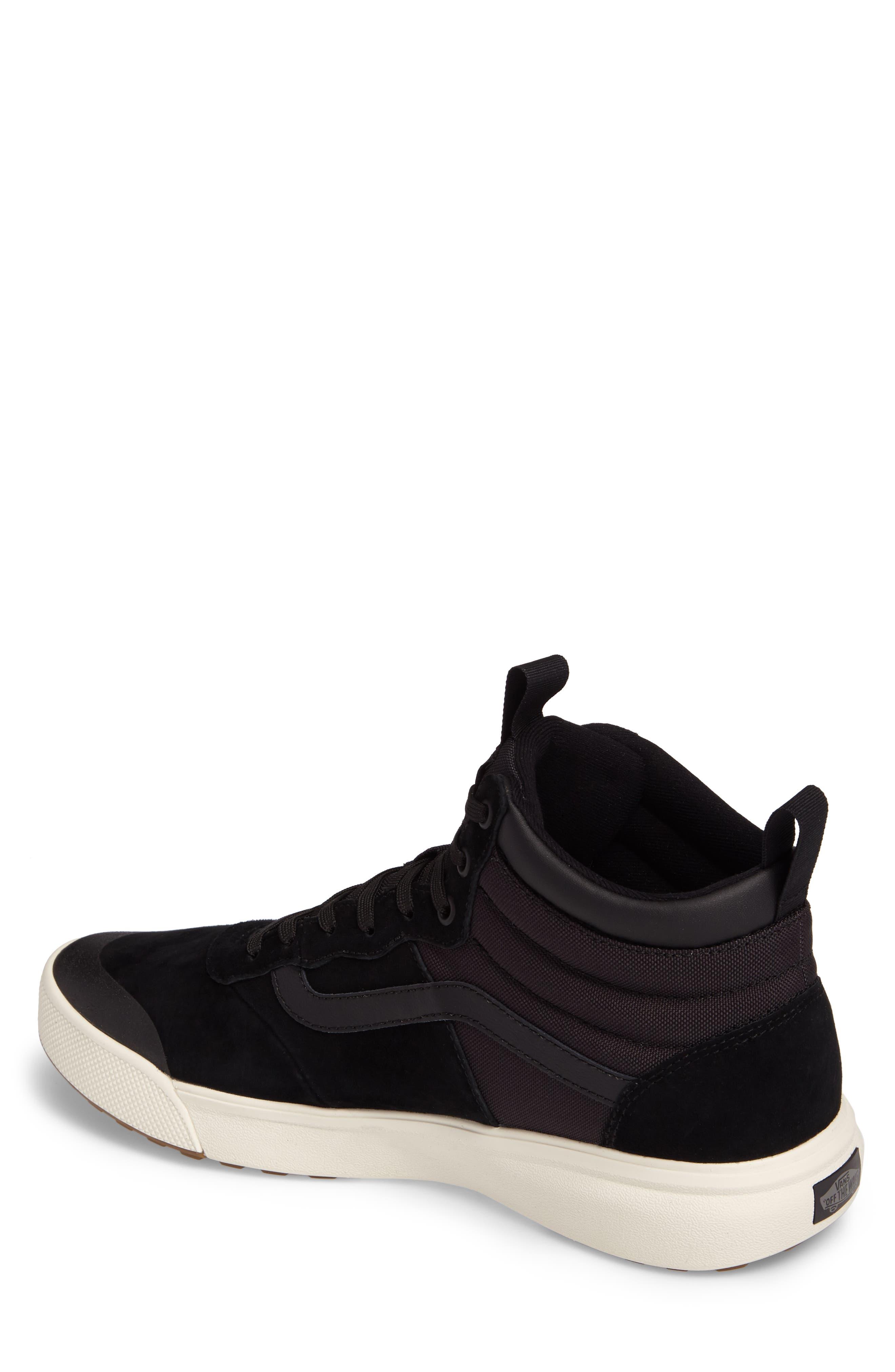 Ultrarange Hi Sneaker,                             Alternate thumbnail 2, color,                             BLACK SUEDE