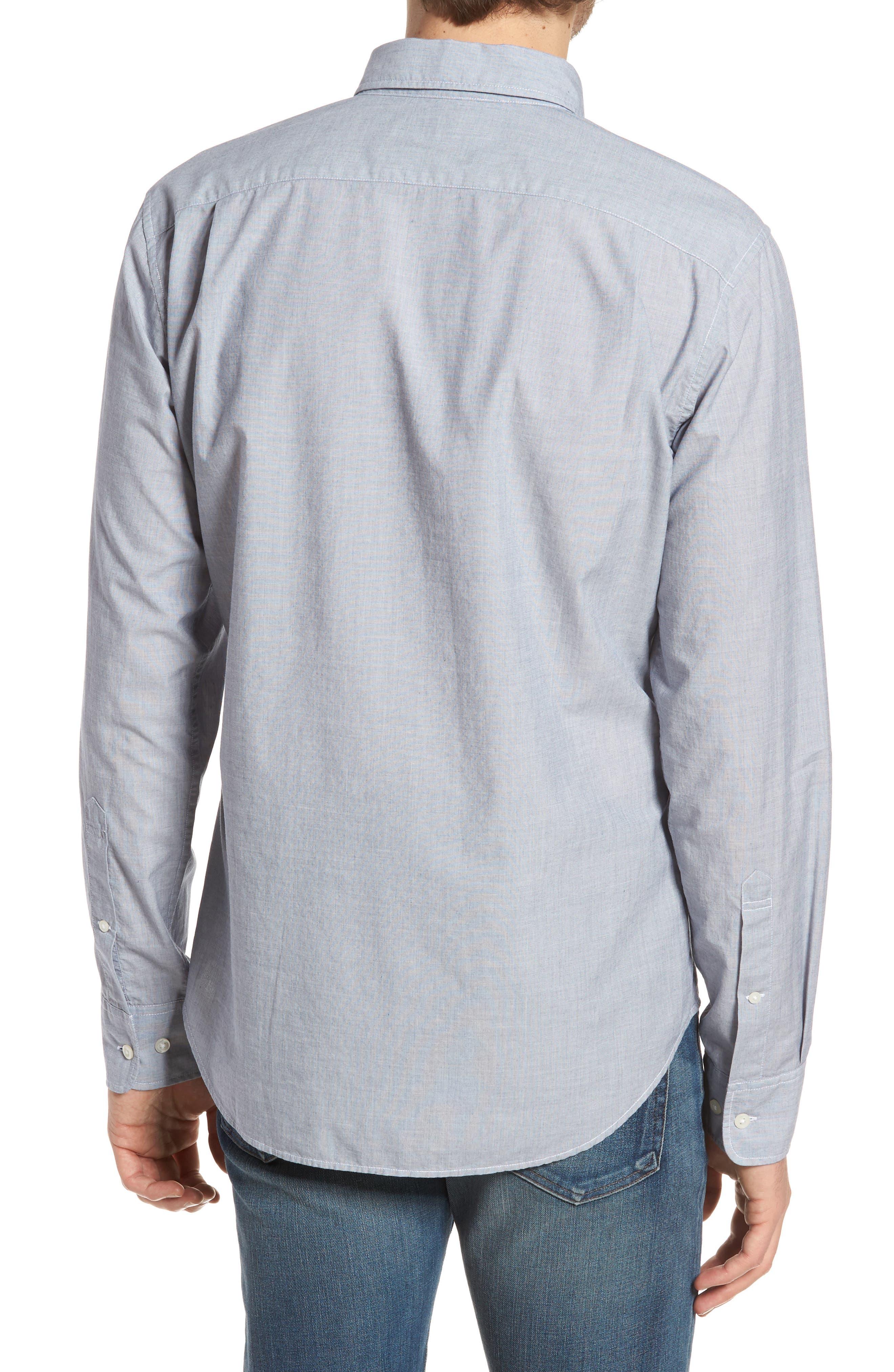 Summerweight Slim Fit Sport Shirt,                             Alternate thumbnail 2, color,                             400