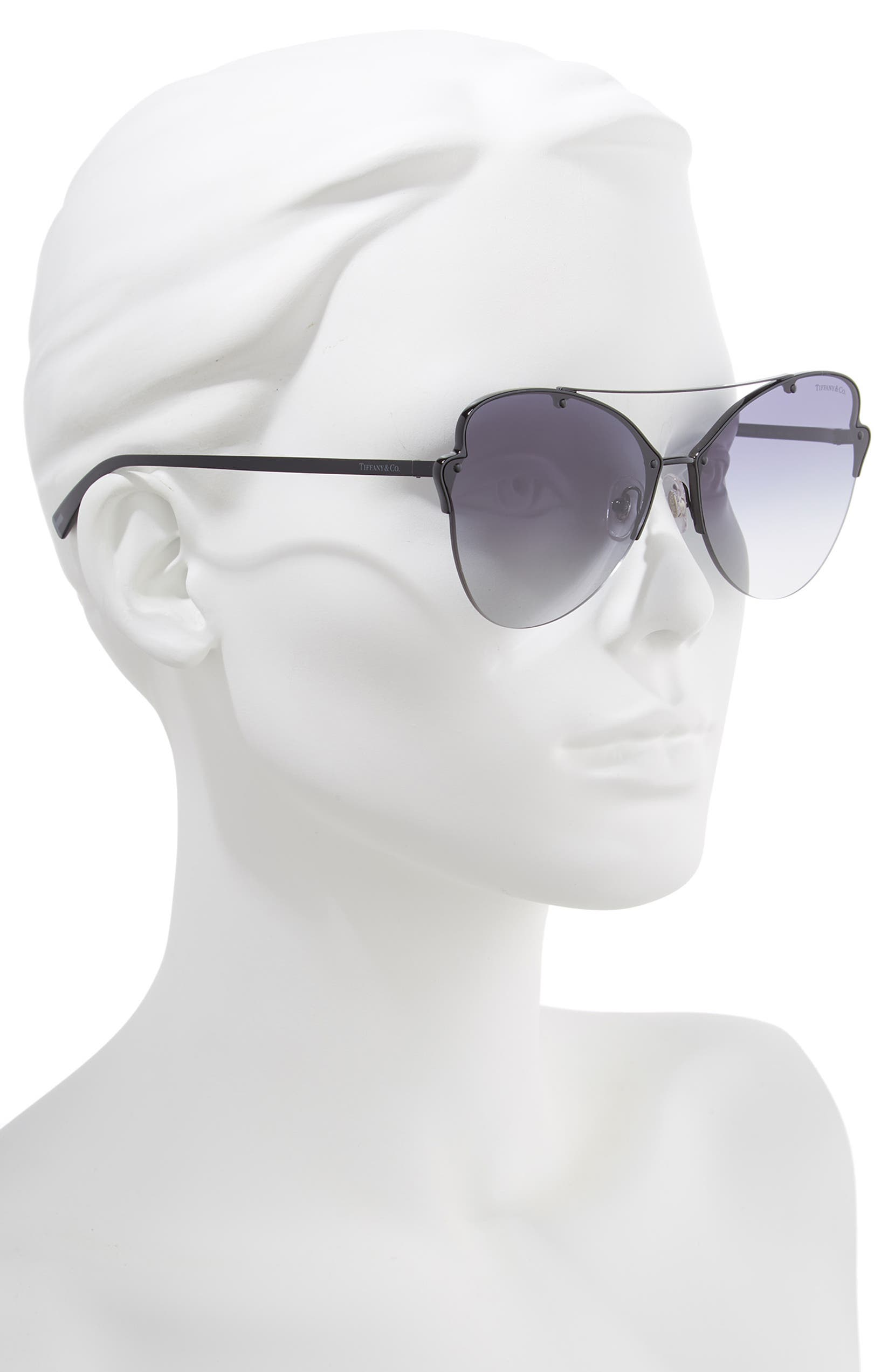 2fde2b22b8ecb Tiffany   Co. 64mm Oversize Butterfly Sunglasses